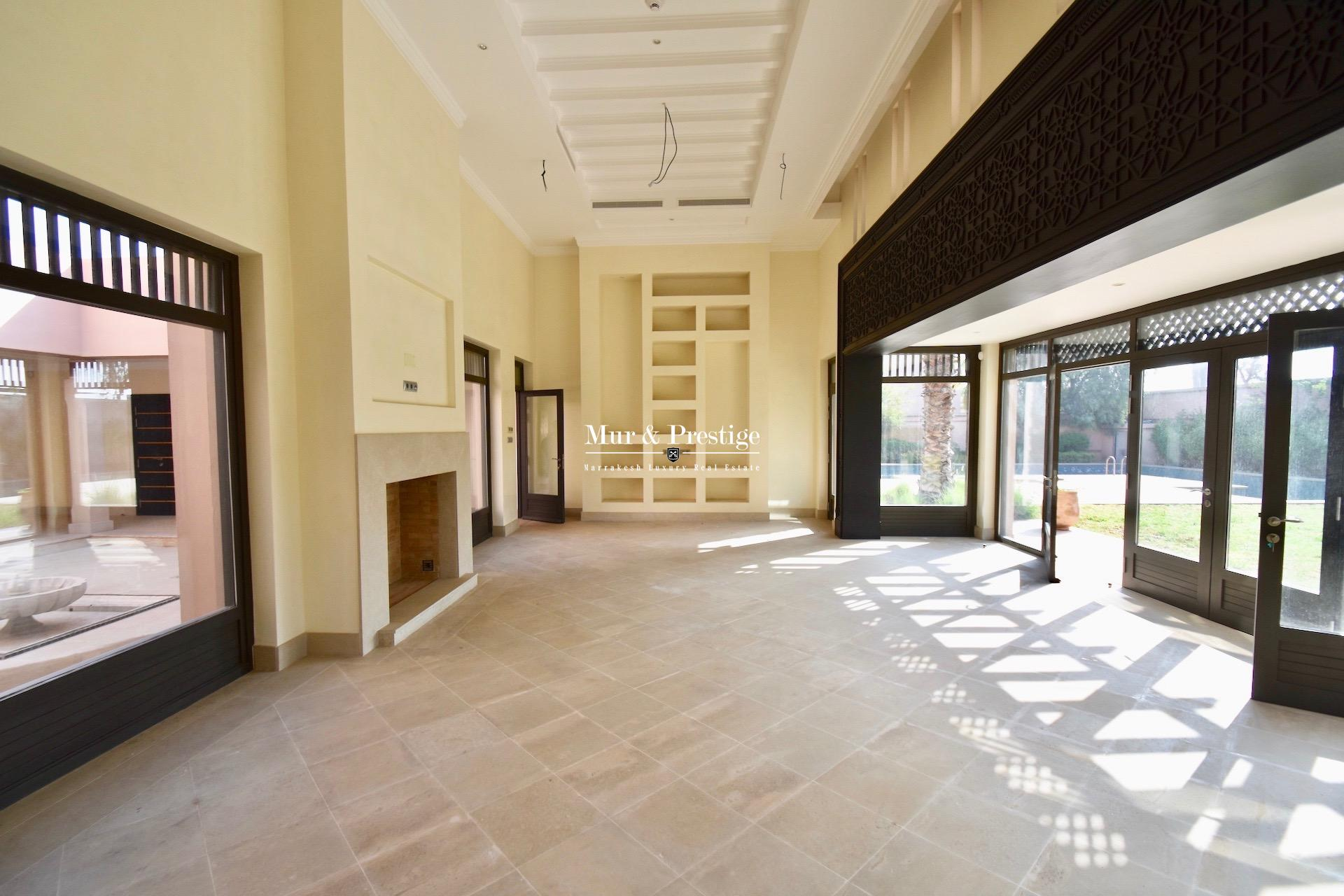 Four Seasons Marrakech : Villa à vendre