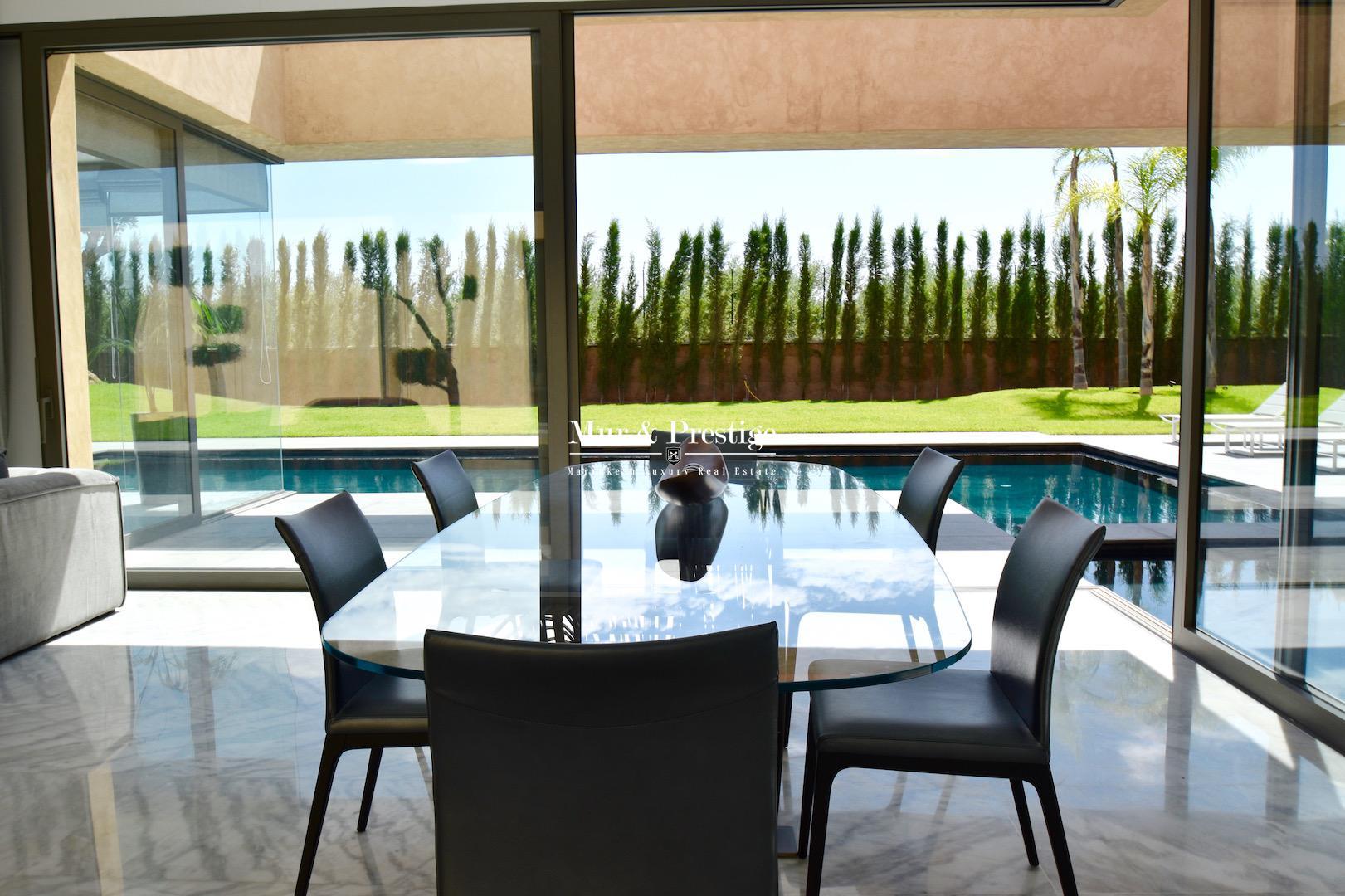 Villa ultra-moderne en vente à Marrakech