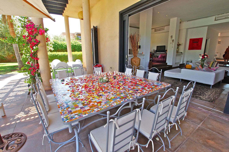 Elegante maison Vente villa sur golf a Marrakech