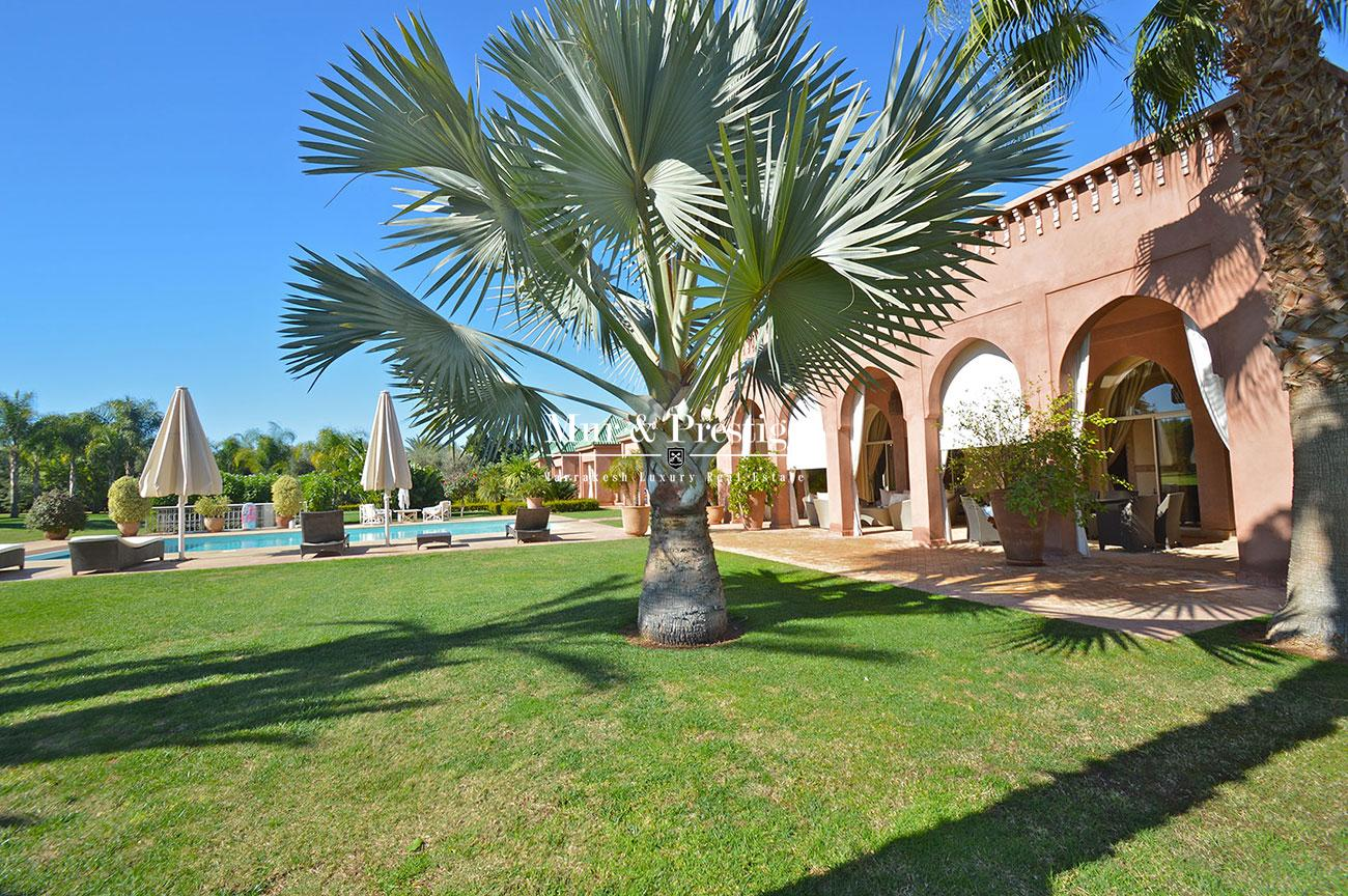 Exceptionnelle maison de charme a vendre Marrakech