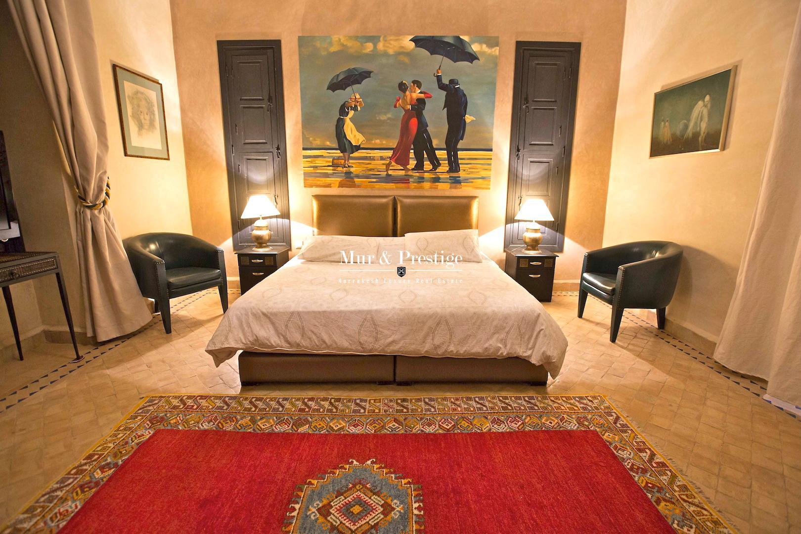 Exceptionnelle propriete de charme a vendre Marrakech