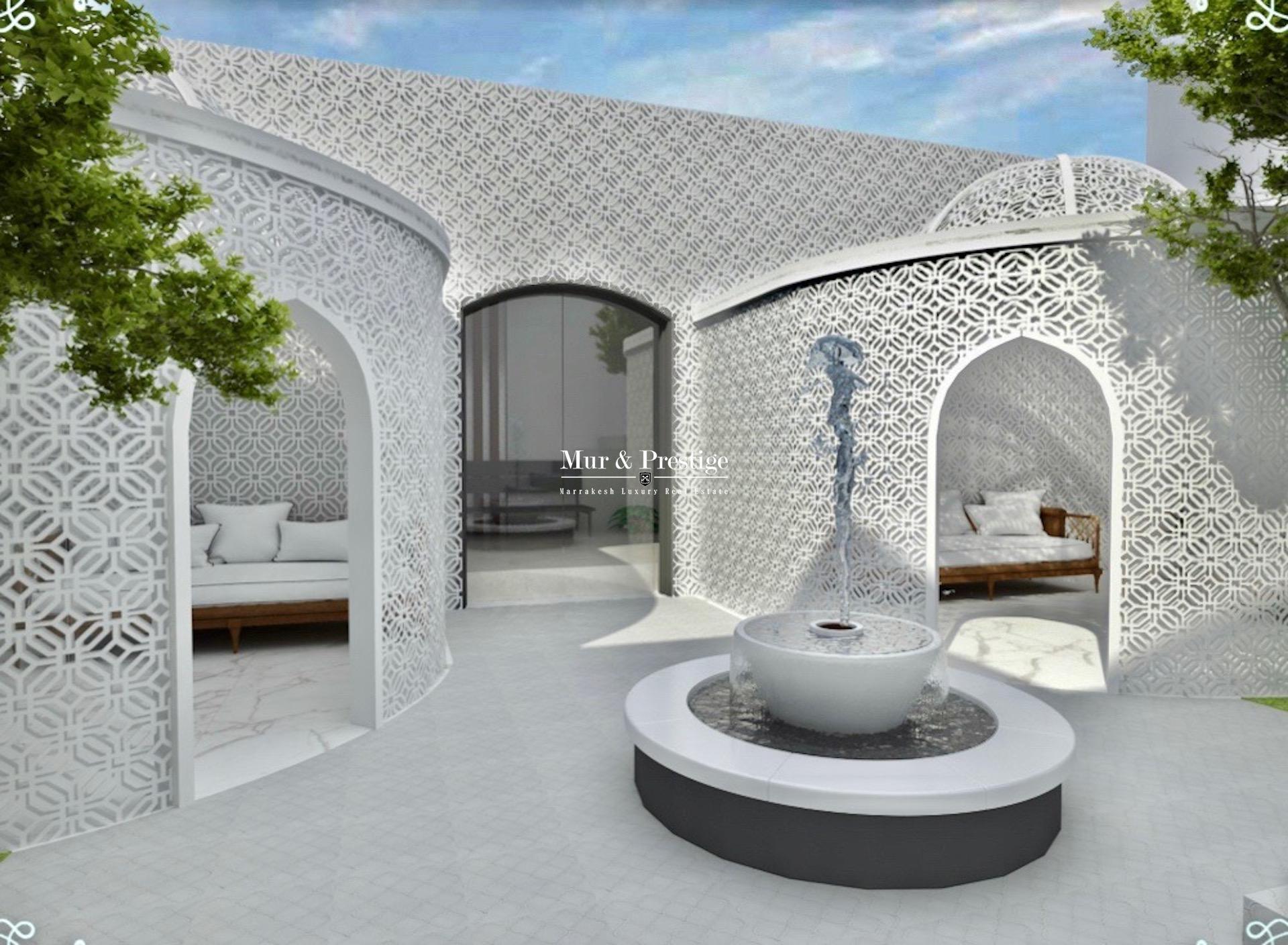 Propriété d'exception à vendre à la palmeraie Marrakech