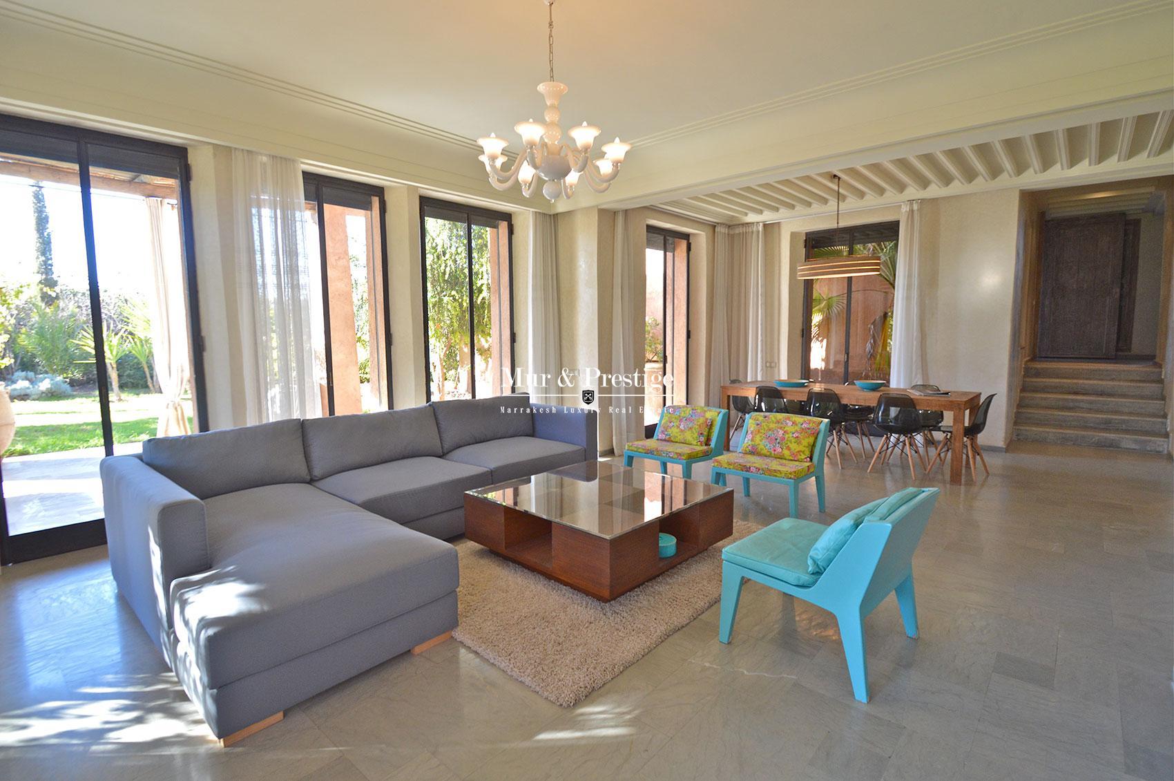 Immobilier de luxe a Marrakech
