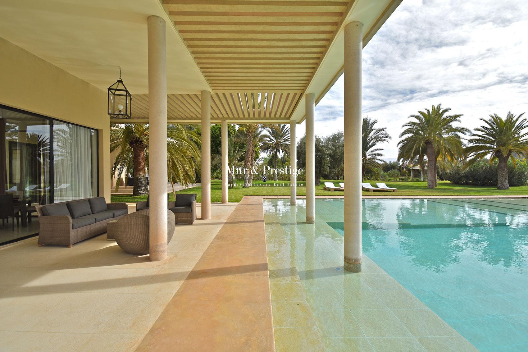 Immobilier de luxe Marrakech