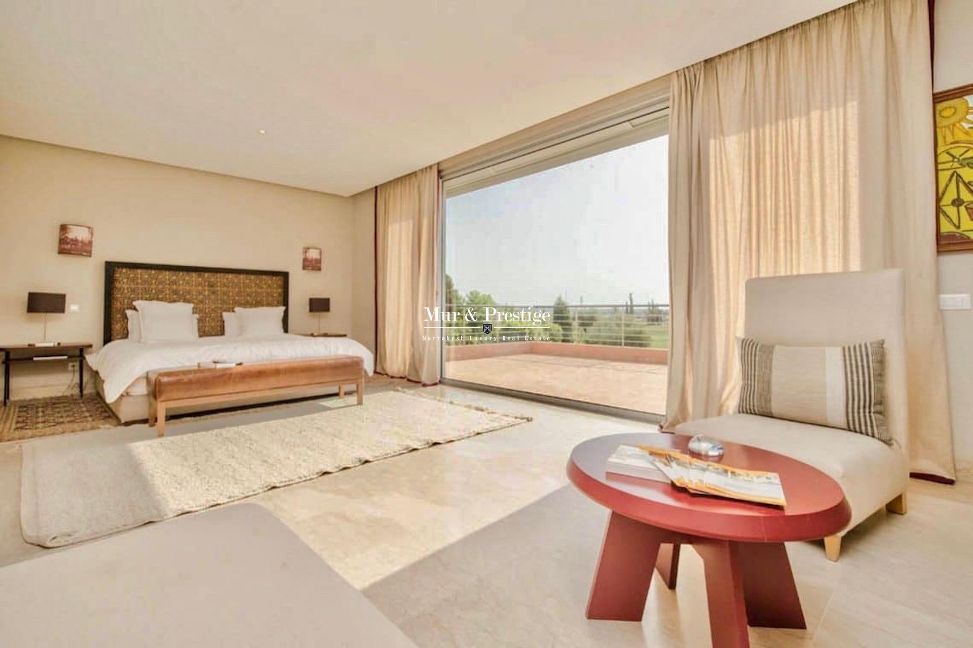 Villa de luxe à Marrakech à louer sur Golf
