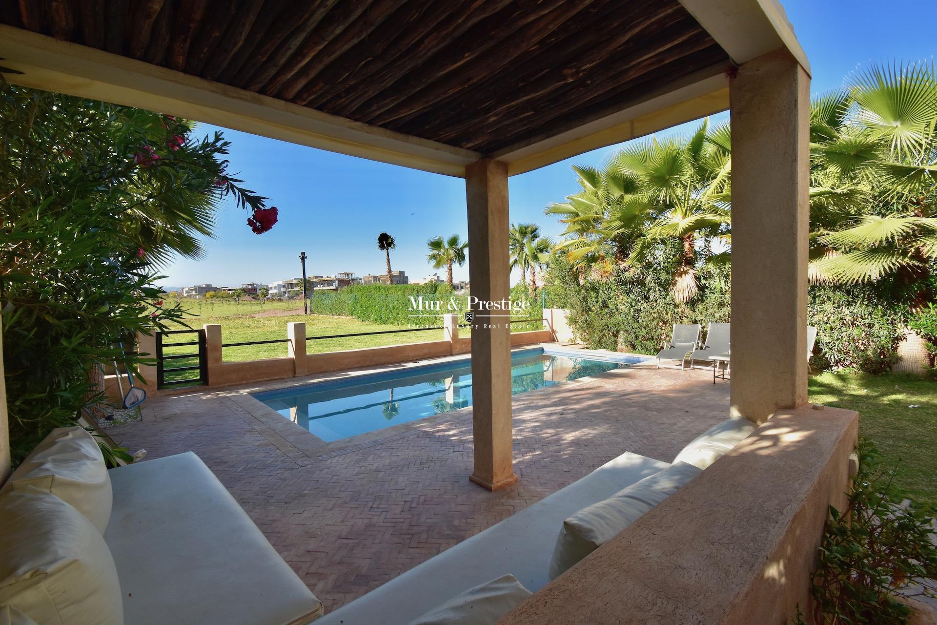 Maison en location en front de golf à Marrakech