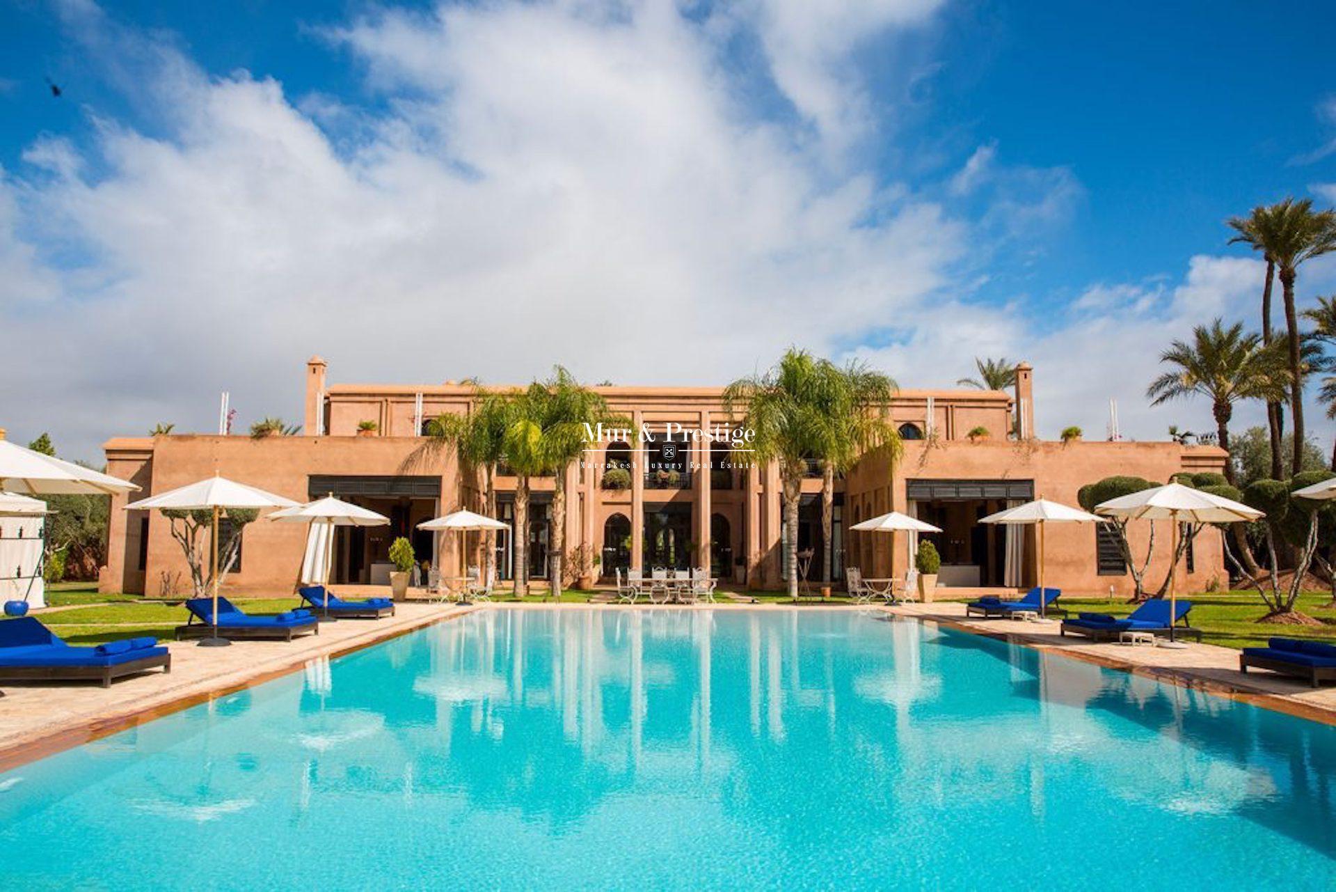 Propriété  à la location à Marrakech