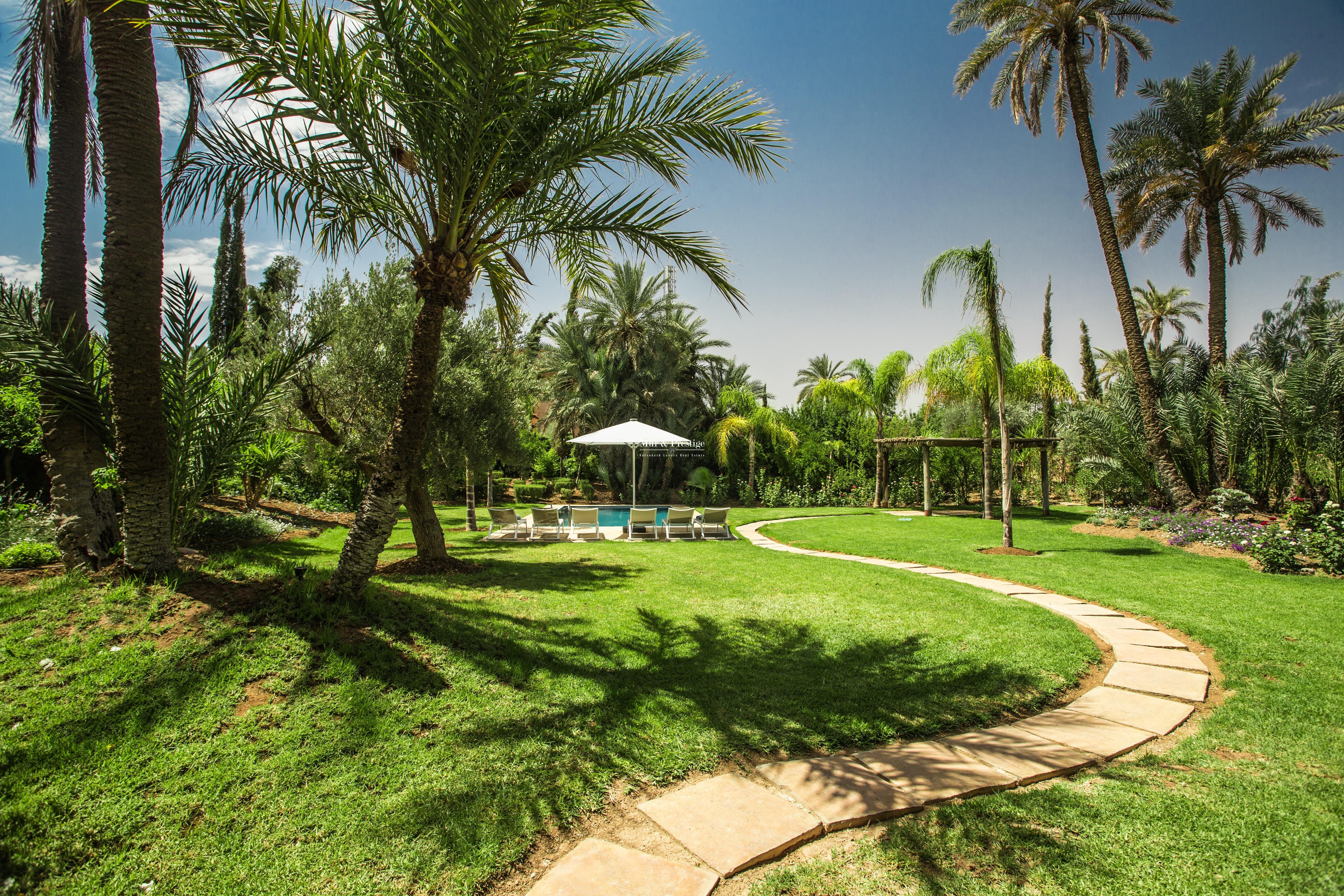 Villa à la locationsaisonnière à Marrakech