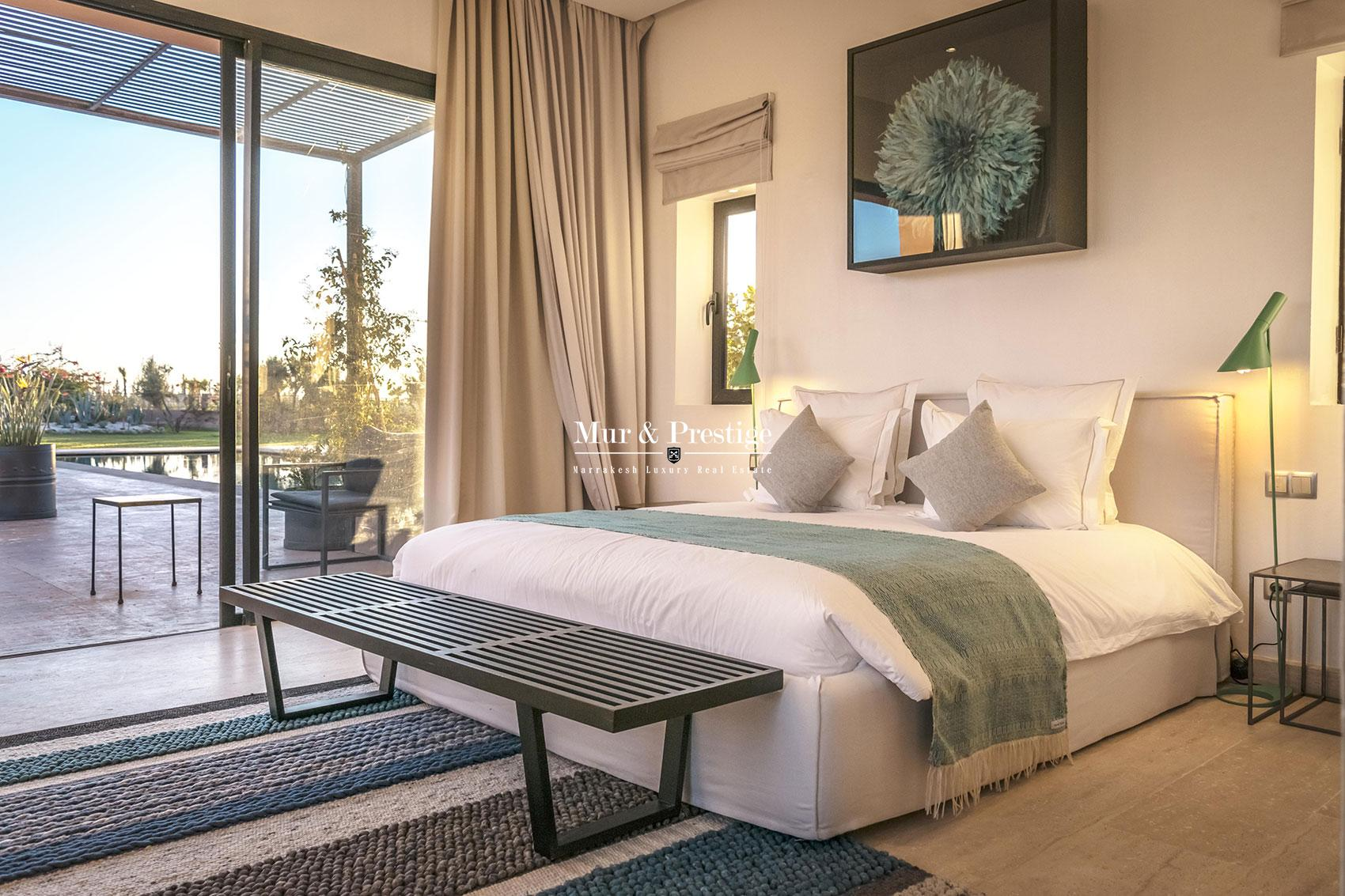 Luxueuse villa en vente face a l'atlas a Marrakech