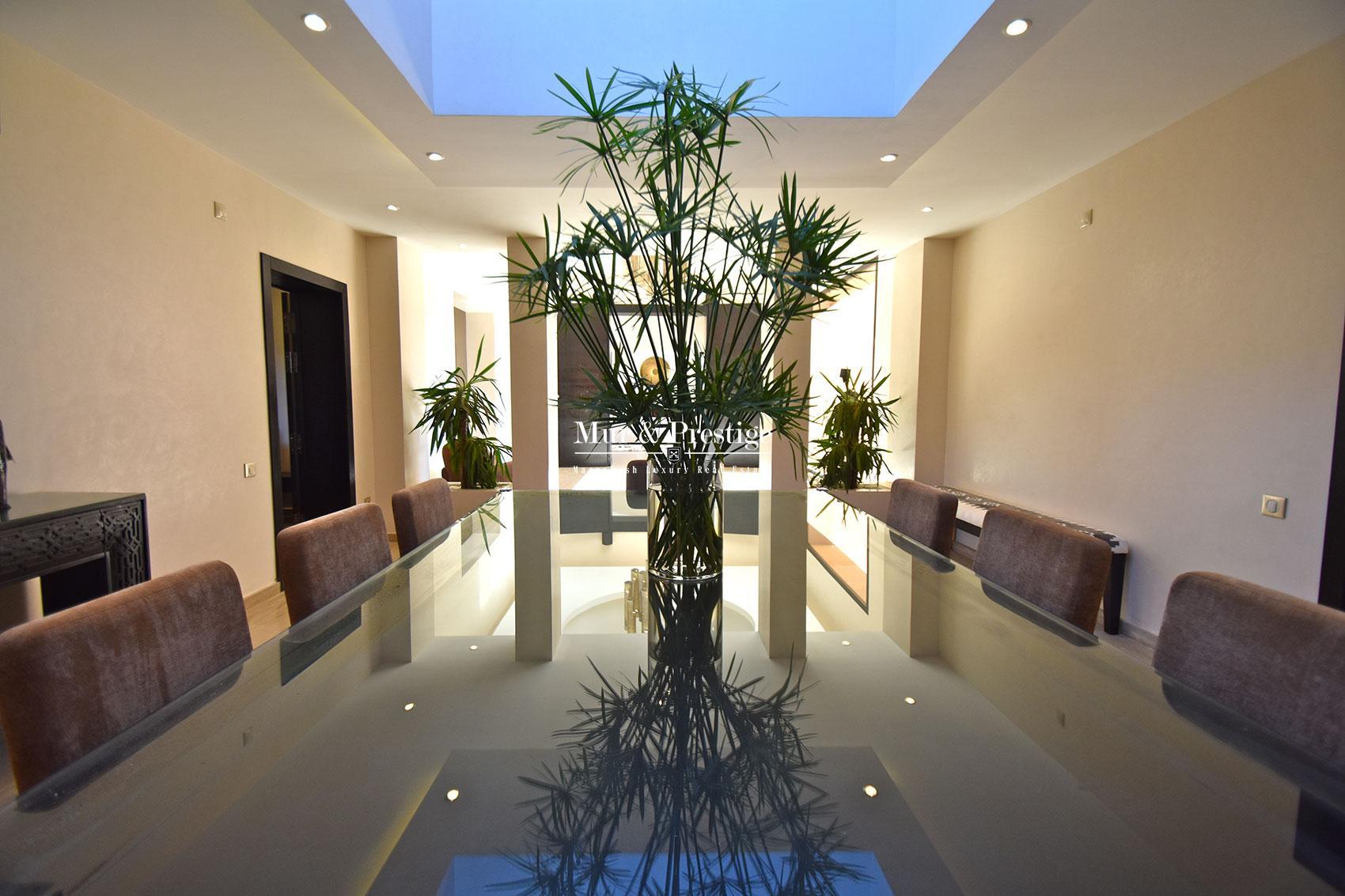 Luxueuse villa en vente face a l'Atlas Marrakech