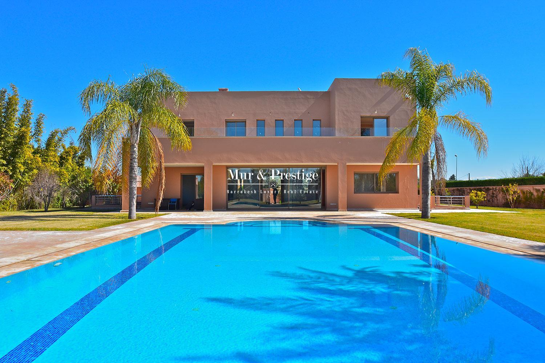 Magnifique villa a vendre a Marrakech