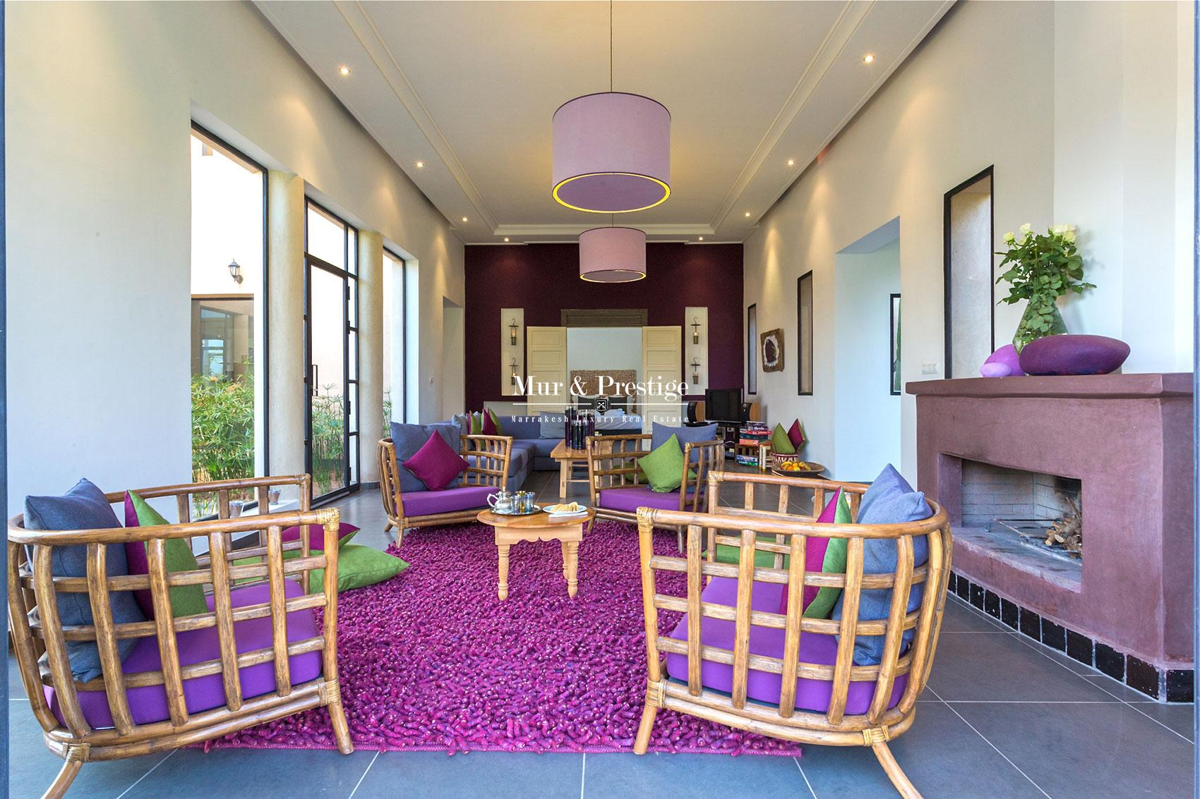 Magnifique villa contemporaine en vente a Marrakech