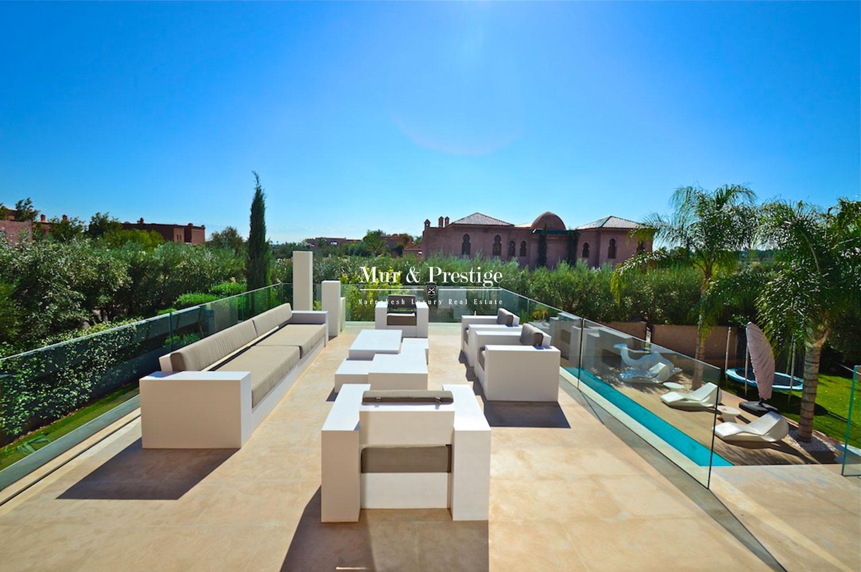 Magnifique villa sur golf en vente a Marrakech