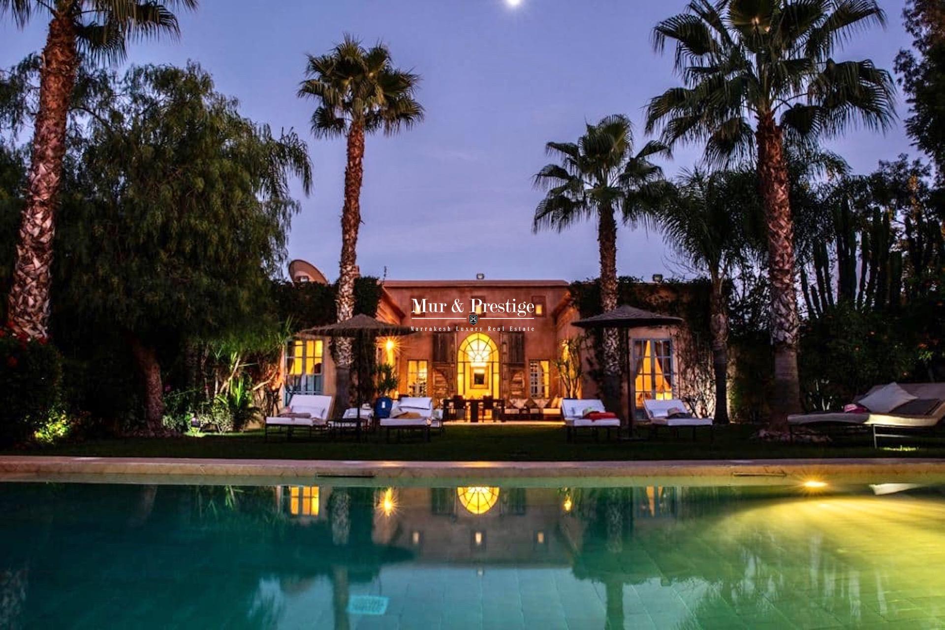 Villa Charles Boccara à louer à Marrakech