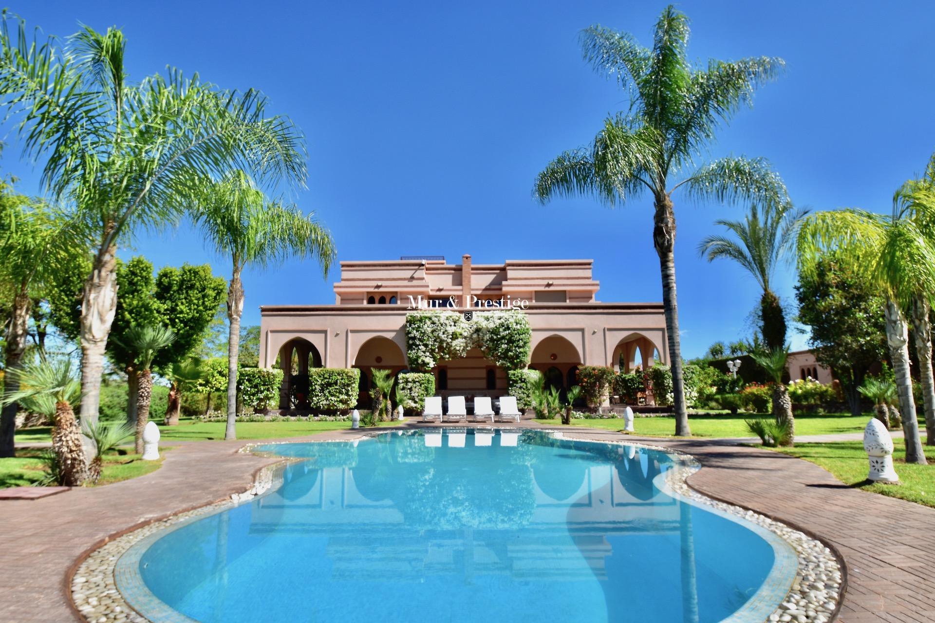 Maison à vendre à Marrakech proche Royal Palm
