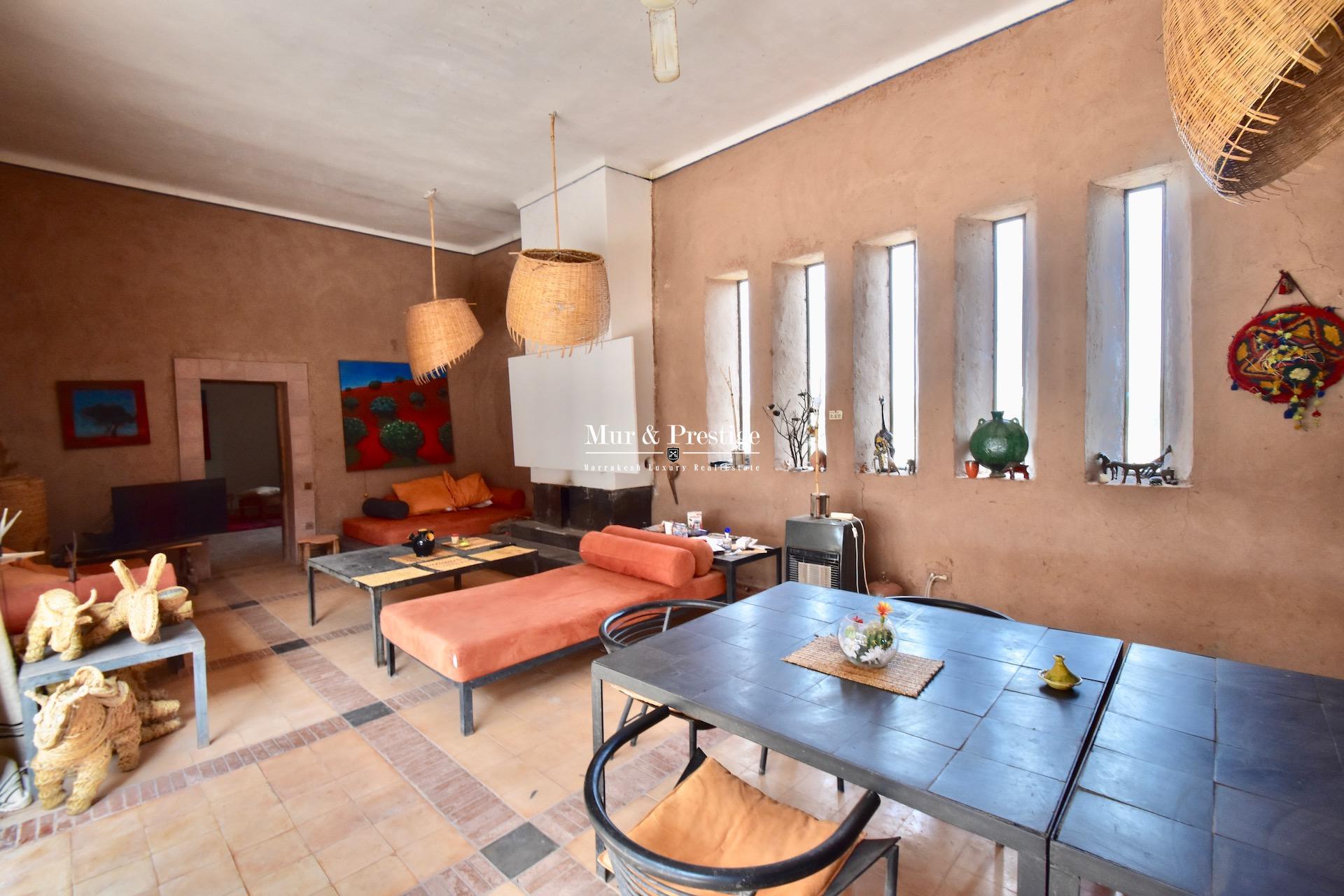 Maison de style berbère à vendre à Marrakech