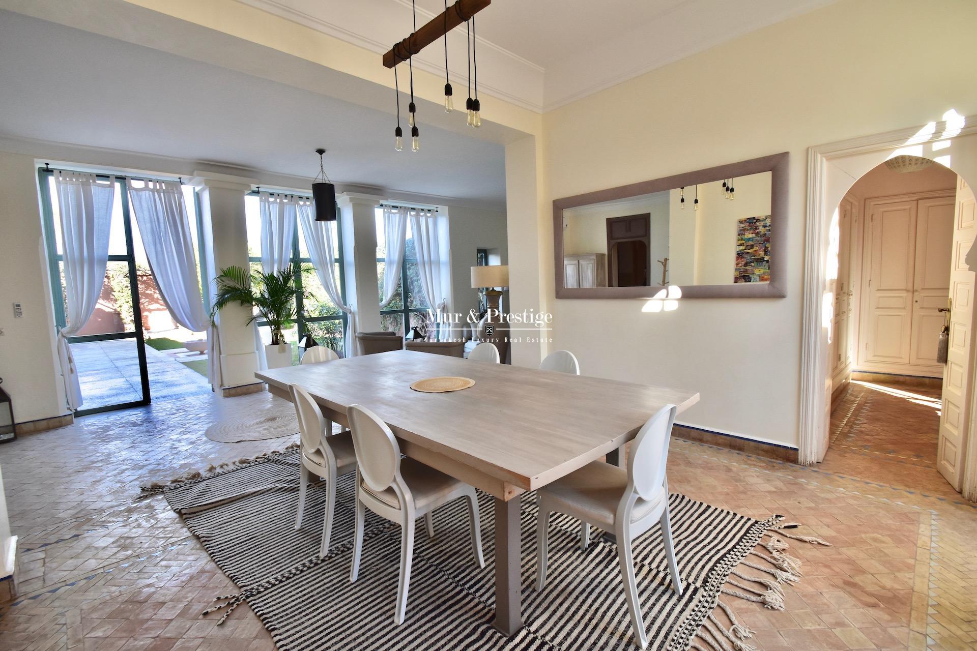 Maison Charles Boccara à vendre à Marrakech