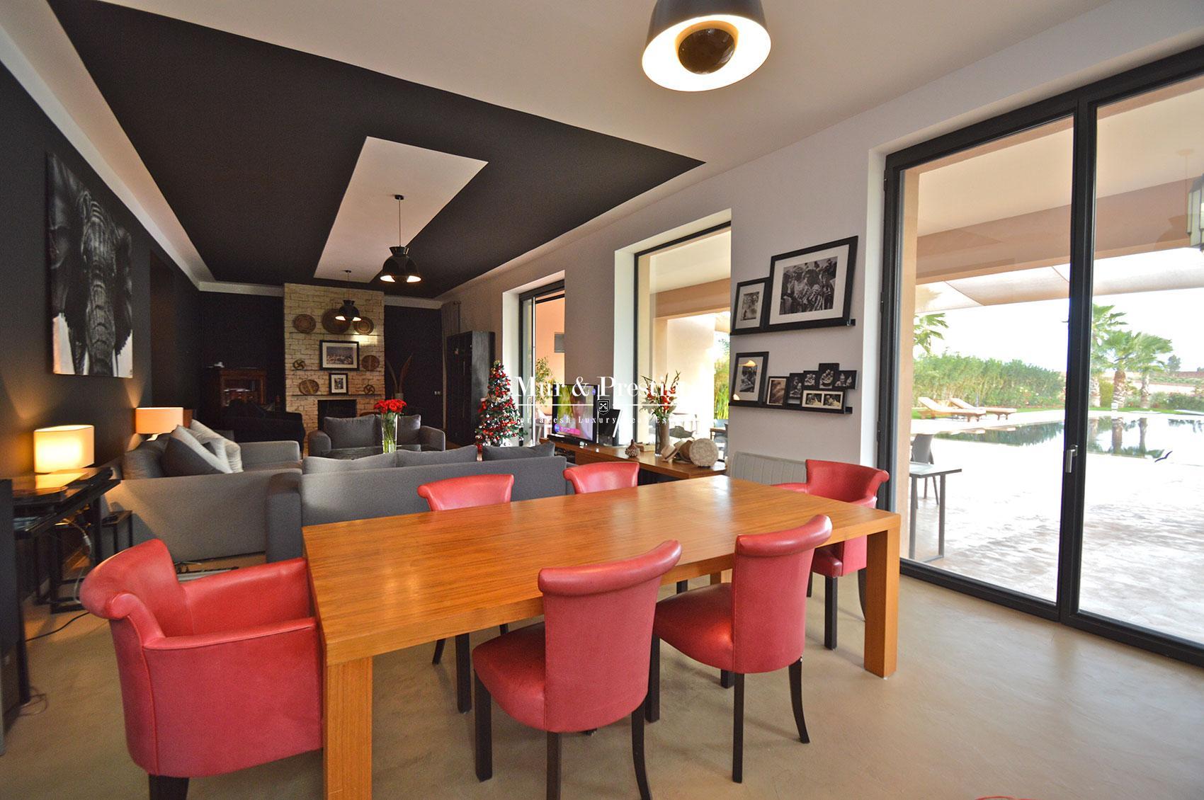 Maison contemporaine a vendre a Marrakech