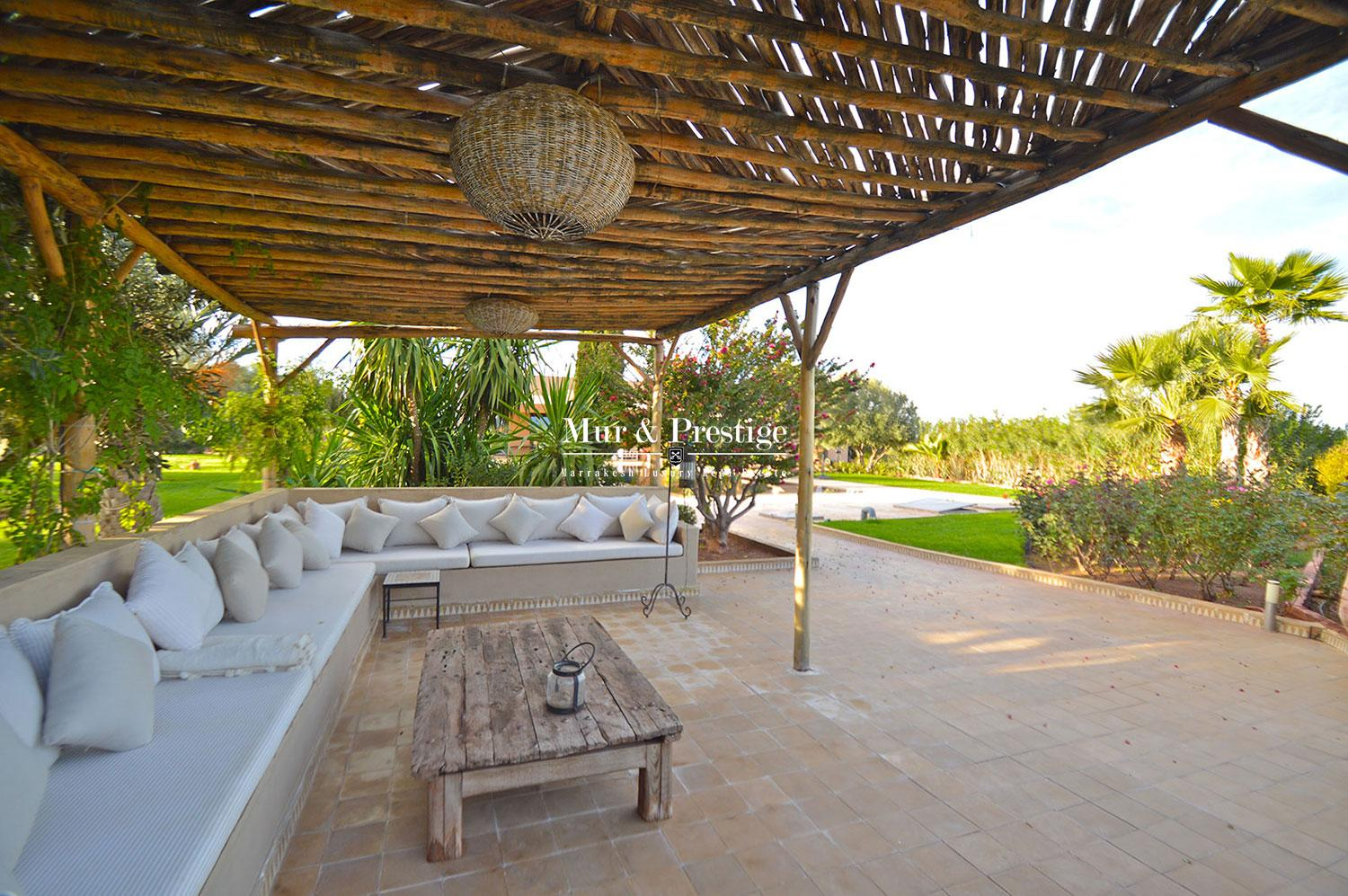 Maison contemporaine a vendre a Marrakech