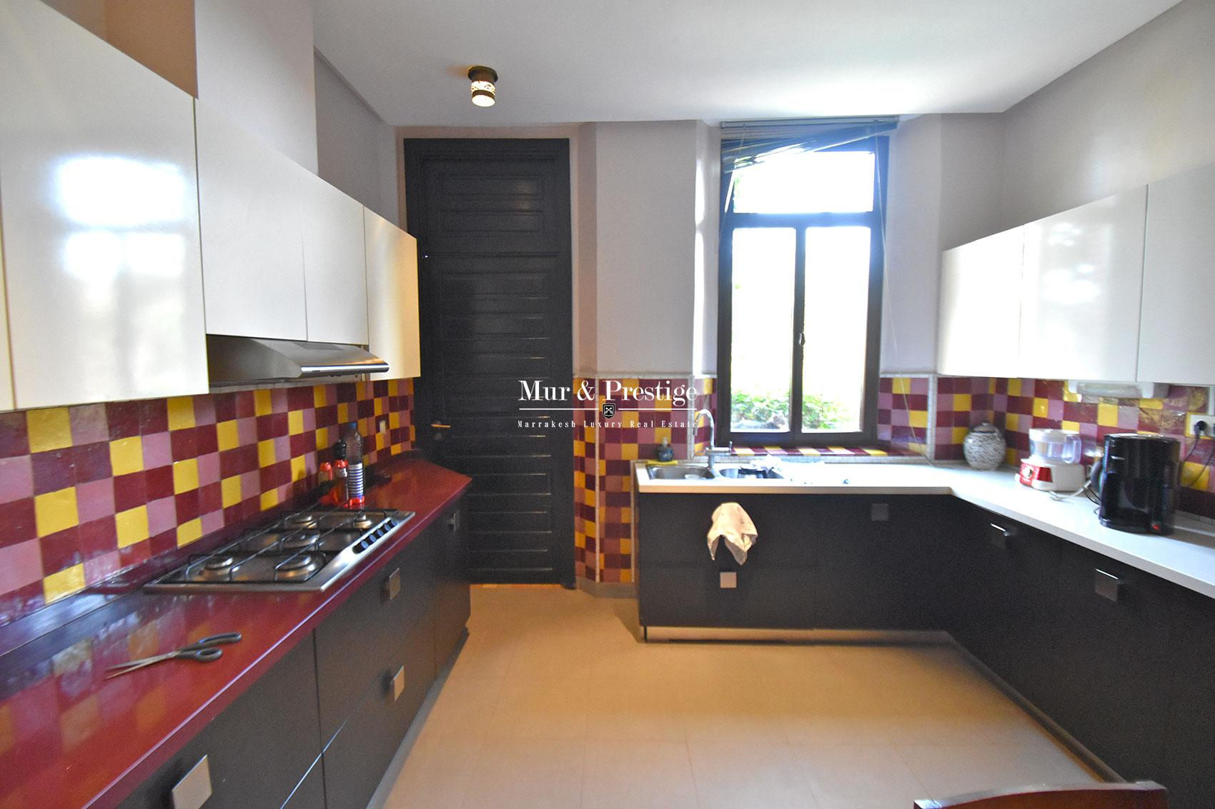 Maison contemporaine en vente sur golf Marrakech