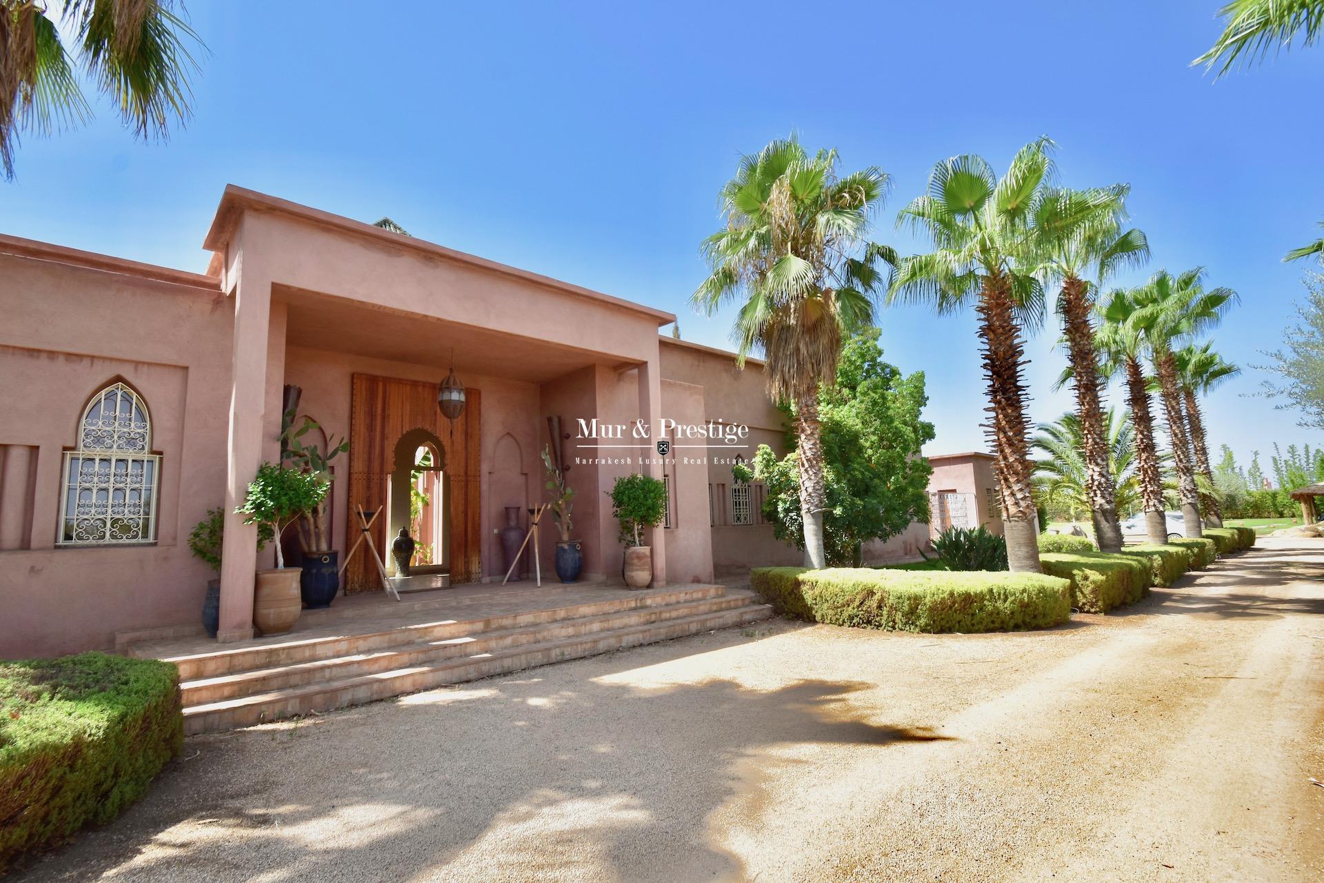 Maison de prestige en vente à Marrakech