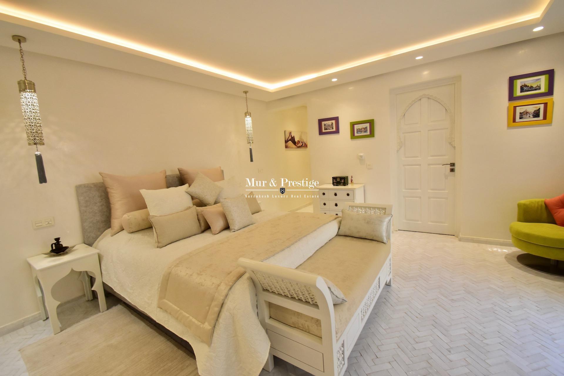Maison de prestige en vente au Golf Amelkis de Marrakech