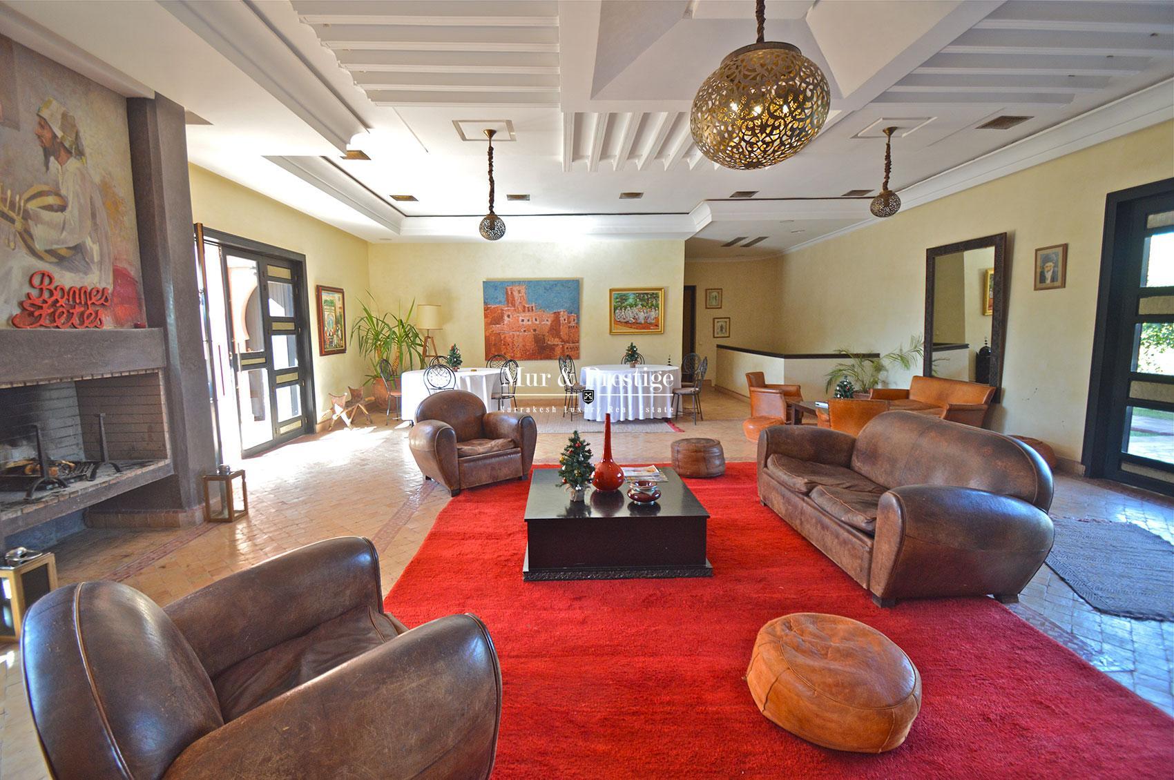 Maisons d'hotes en vente Marrakech