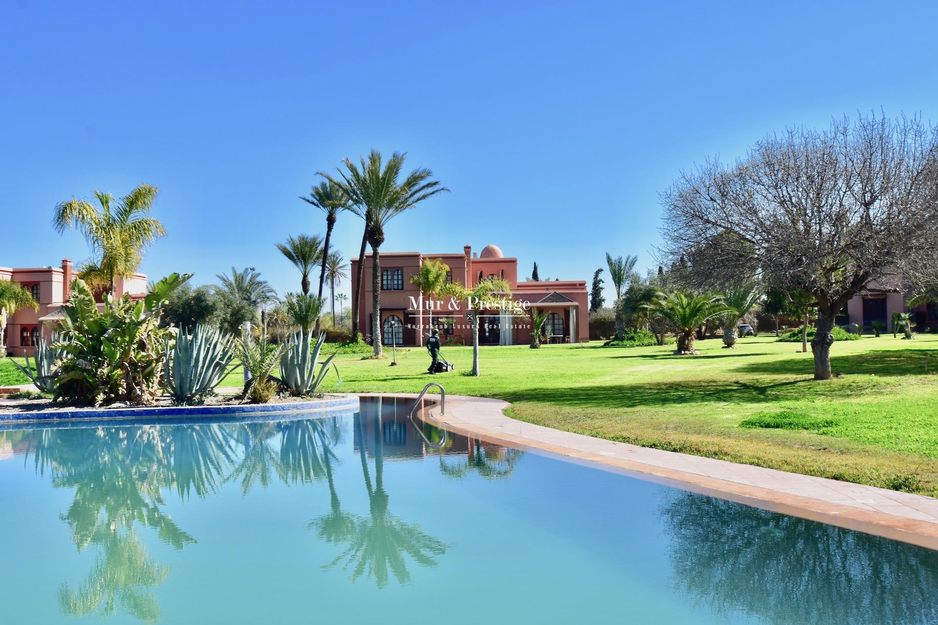 Maison en vente à la Palmeraie Marrakech