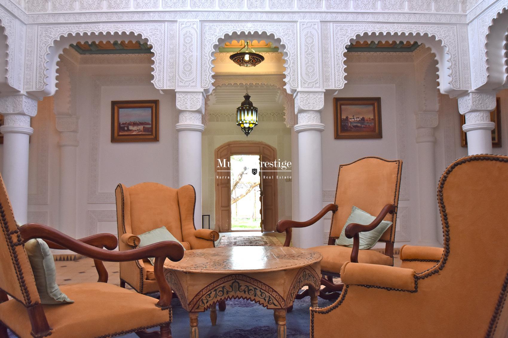 Maison marocaine a la vente à Marrakech