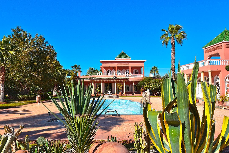 Maison marocaine a vendre route de l'Ourika