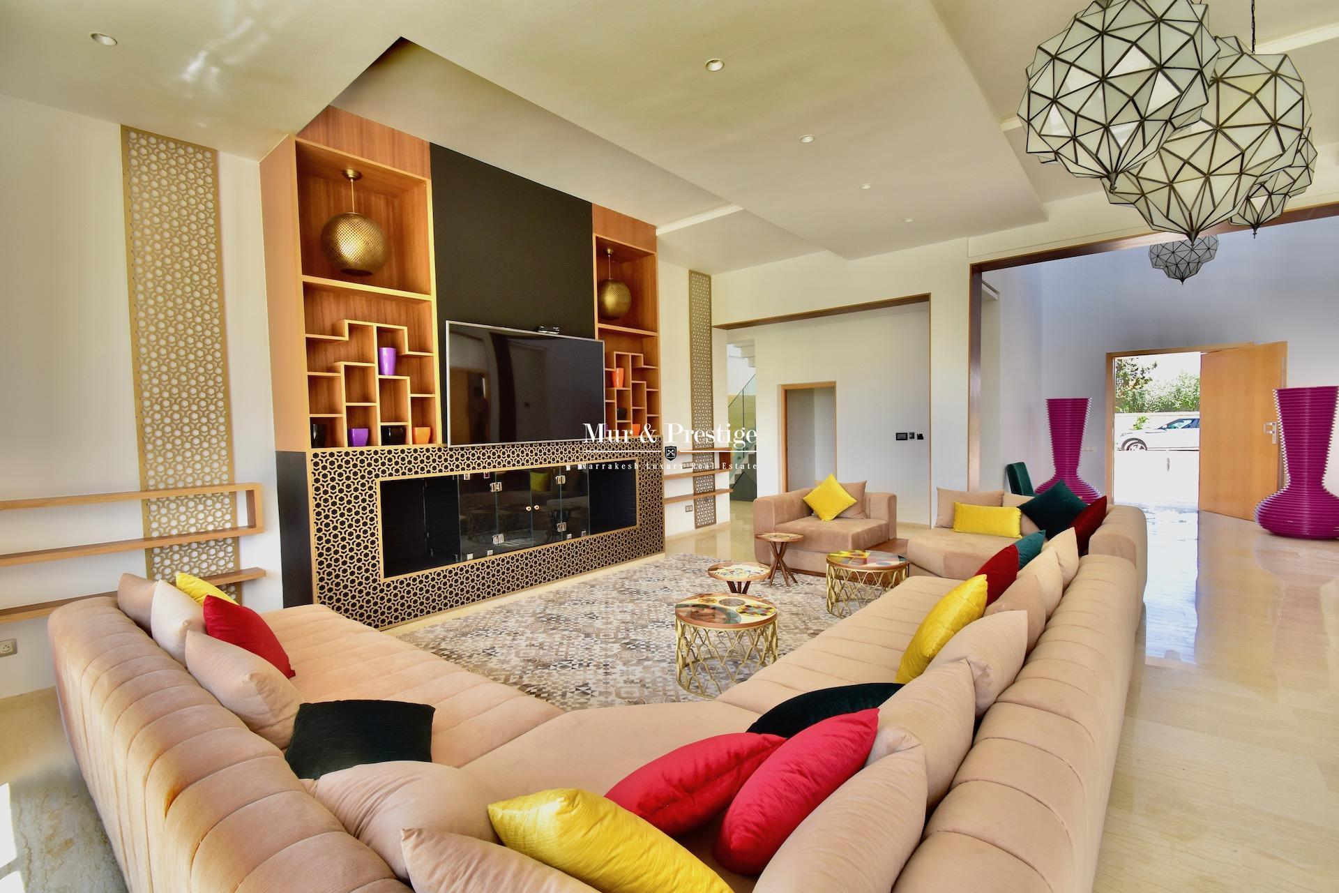 Villa moderne en vente route de l'Ourika à Marrakech