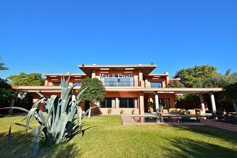 Maison moderne à vendre route d'Amizmiz