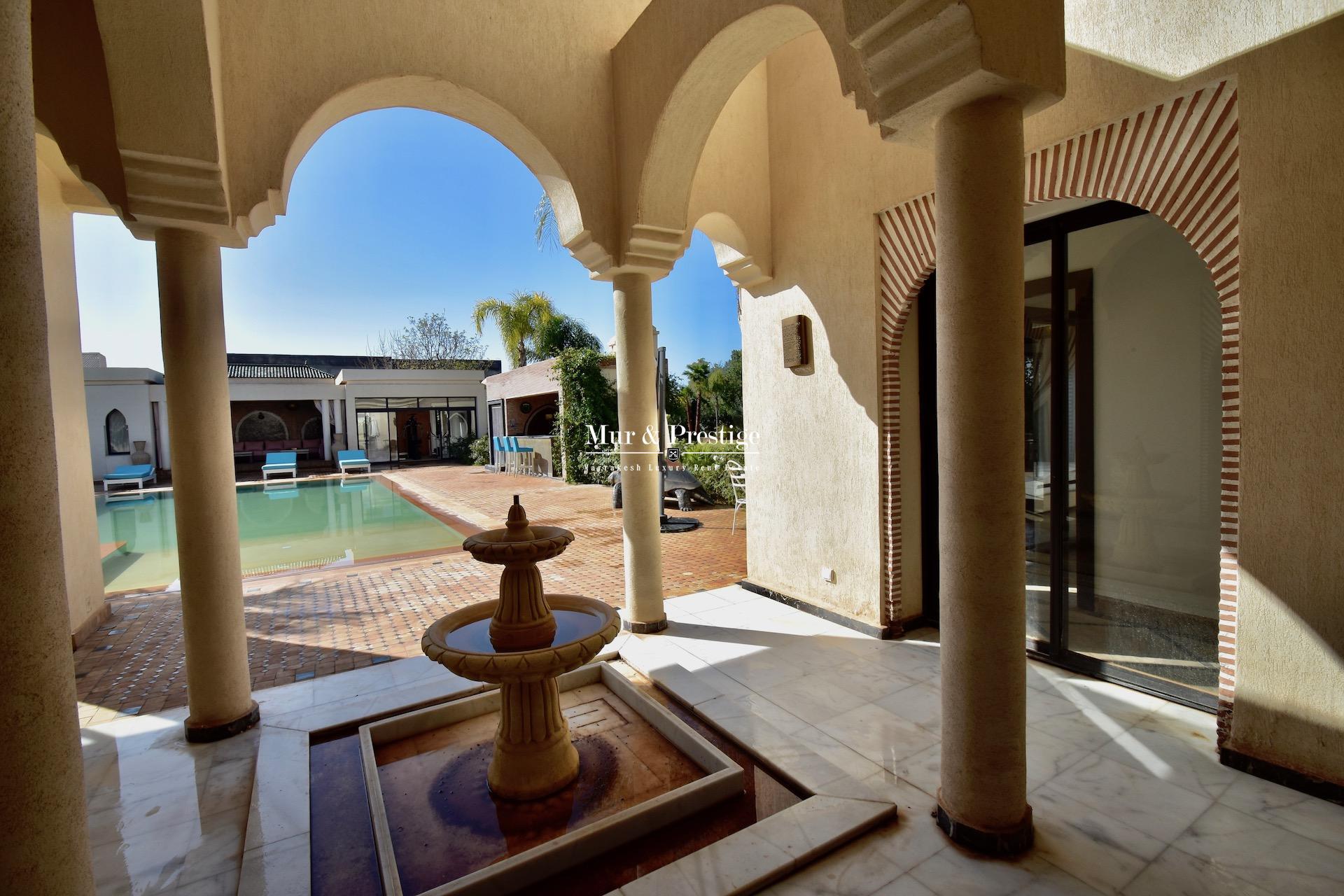 Maison moderne à vendre proche du Golf Royal de Marrakech