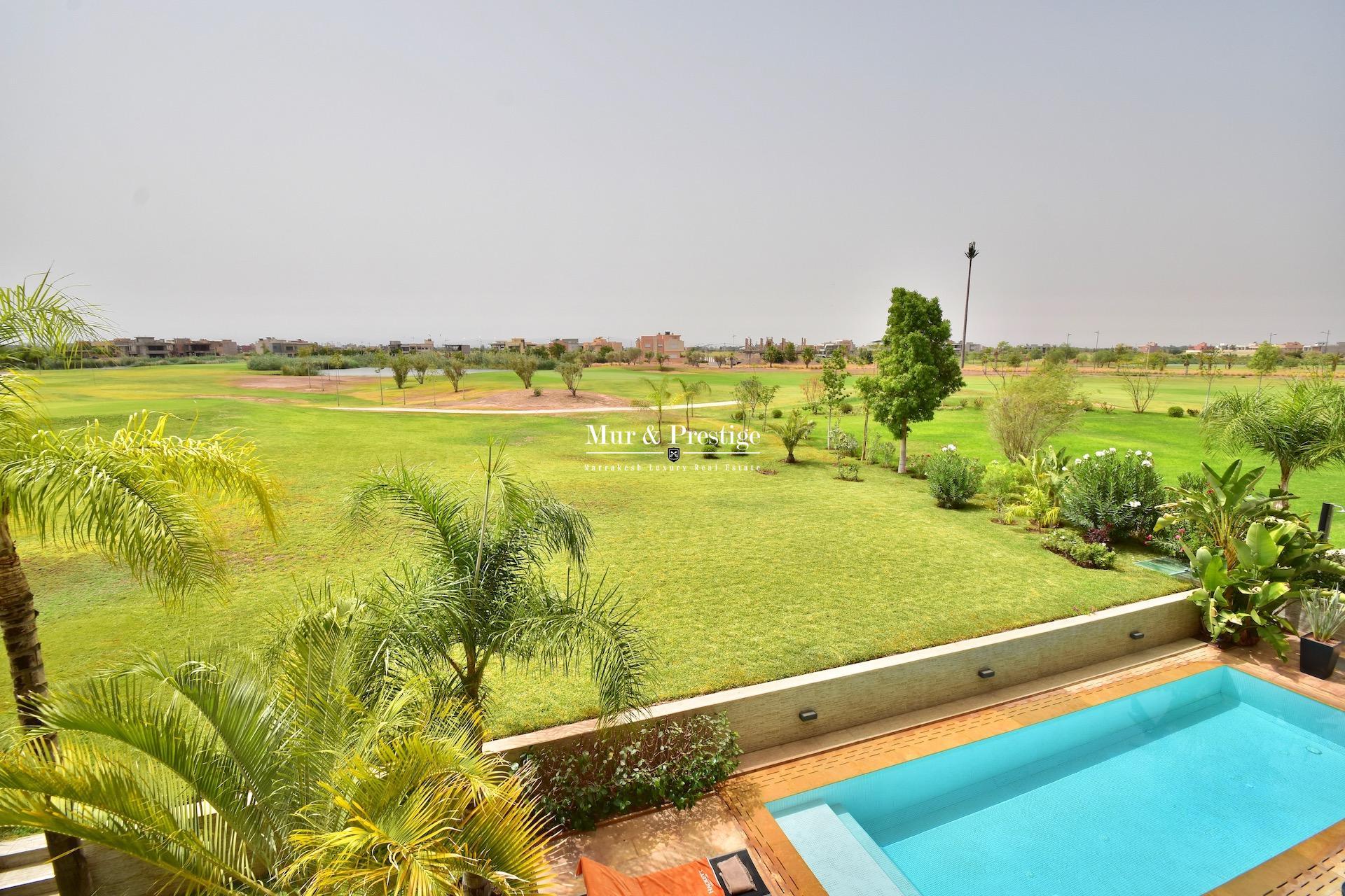 Maison en vente sur golf à Marrakech