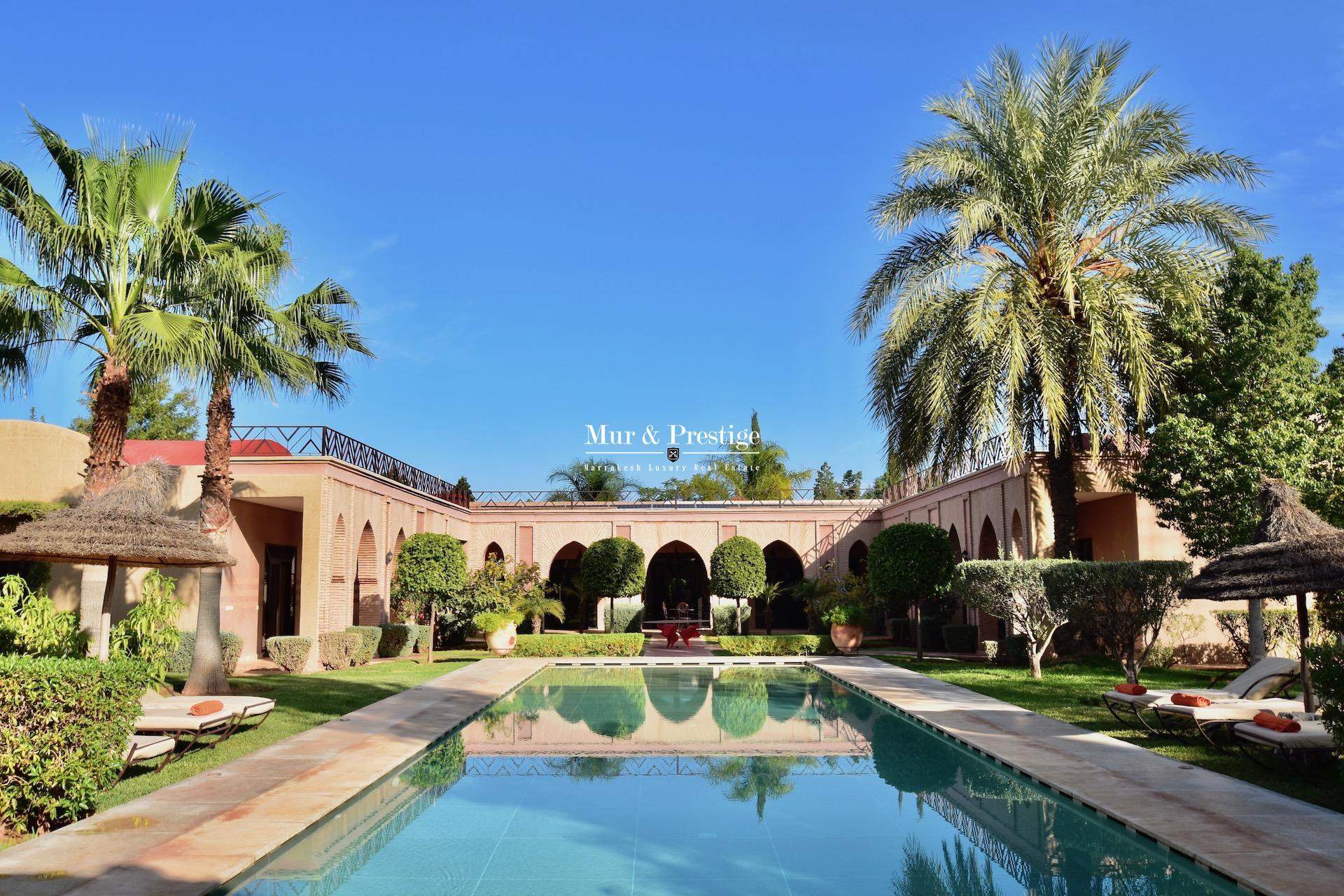 Maison d'hôtes à vendre à Marrakech proche Royal Palm