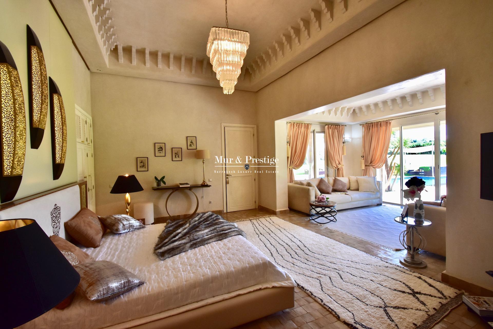Villa à l'allure d'un Palais à vendre à Marrakech