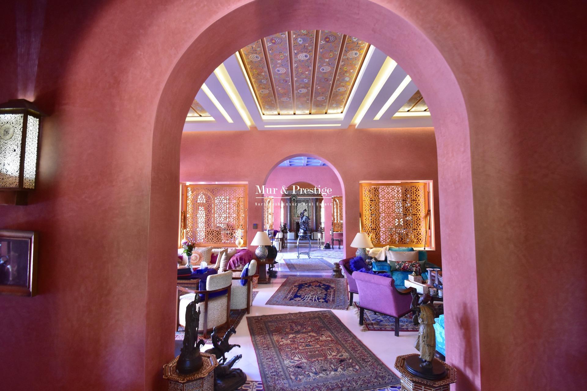 Palais à Vendre à la Palmeraie Marrakech -  Immobilier de Luxe