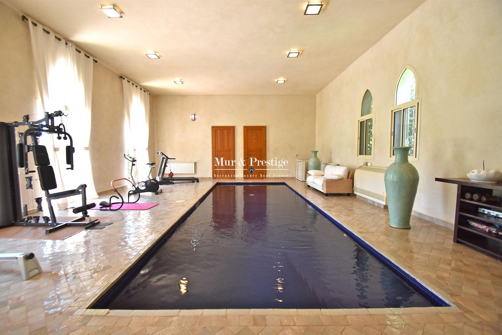 Prestigieuse villa a vendre a Marrakech