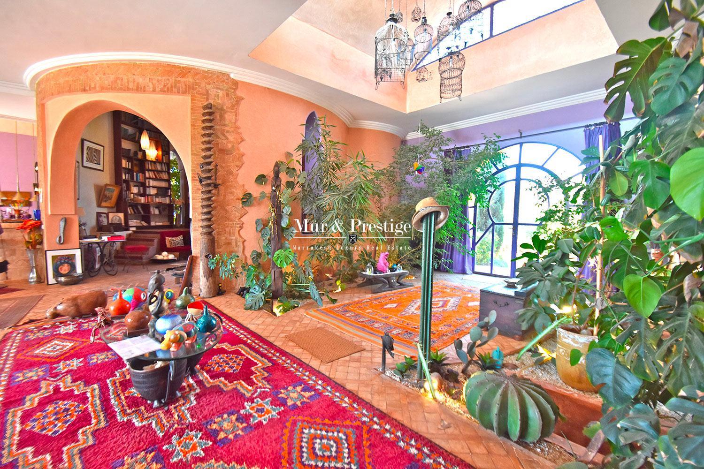 Propriété atypique en vente a Marrakech