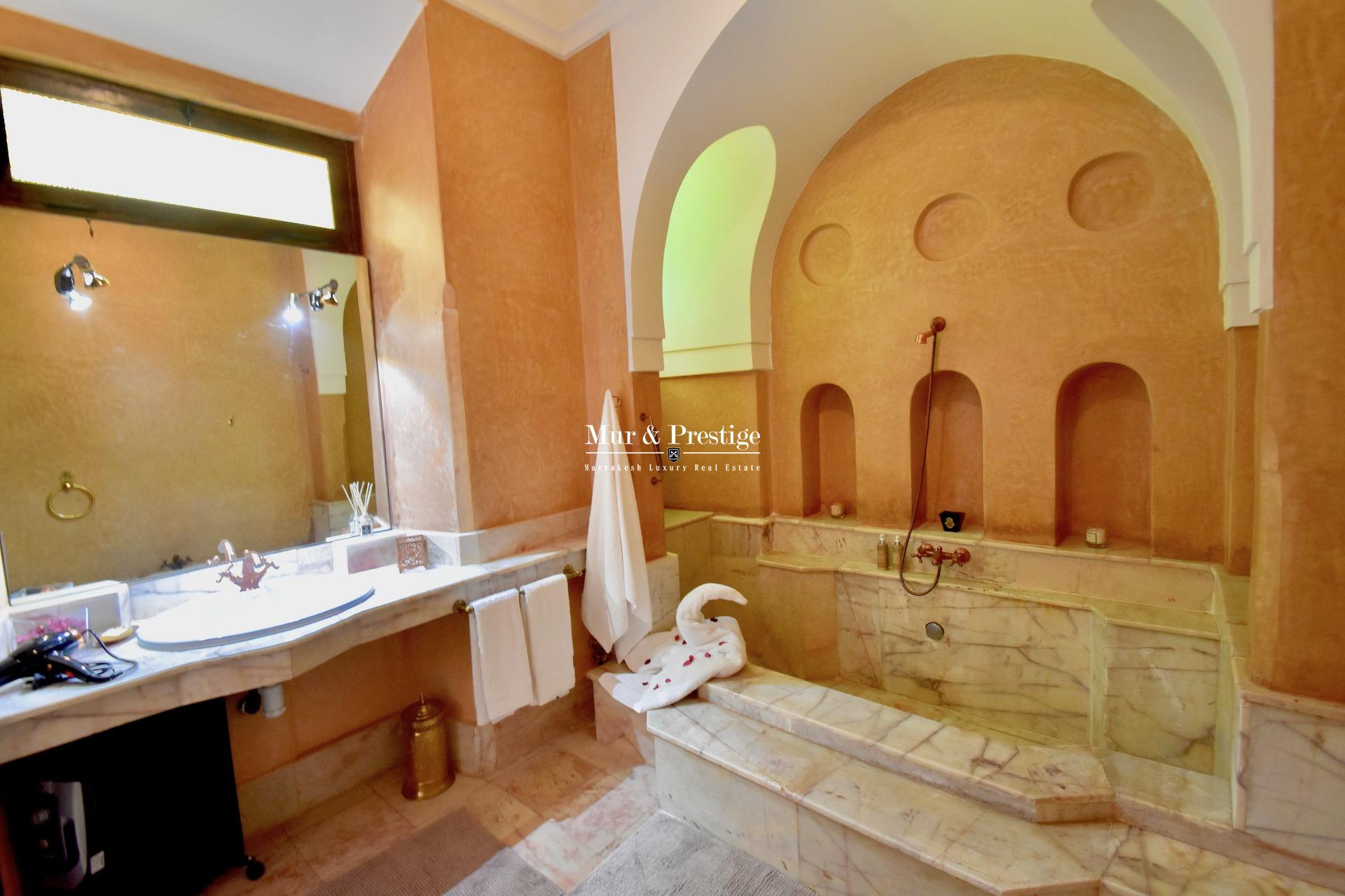 Maison à vendre Charles Boccara sur un hectare à Marrakech