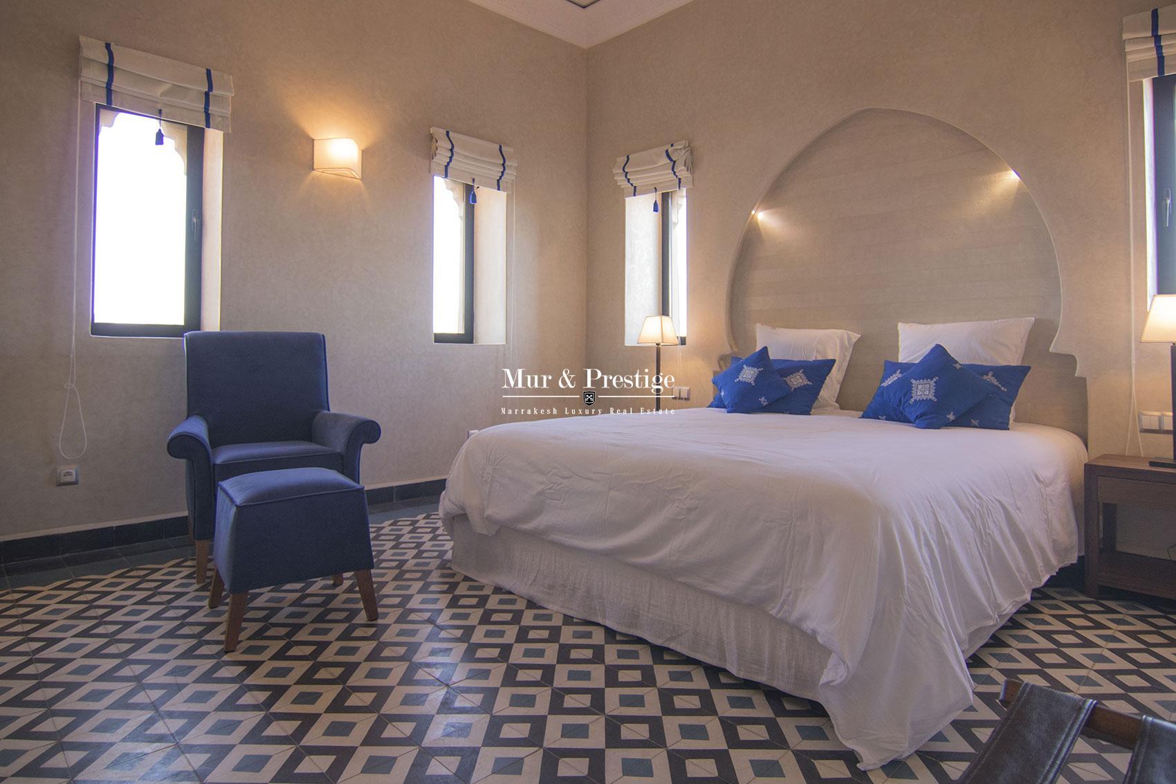 Propriete en vente au design marocain et moderne Marrakech