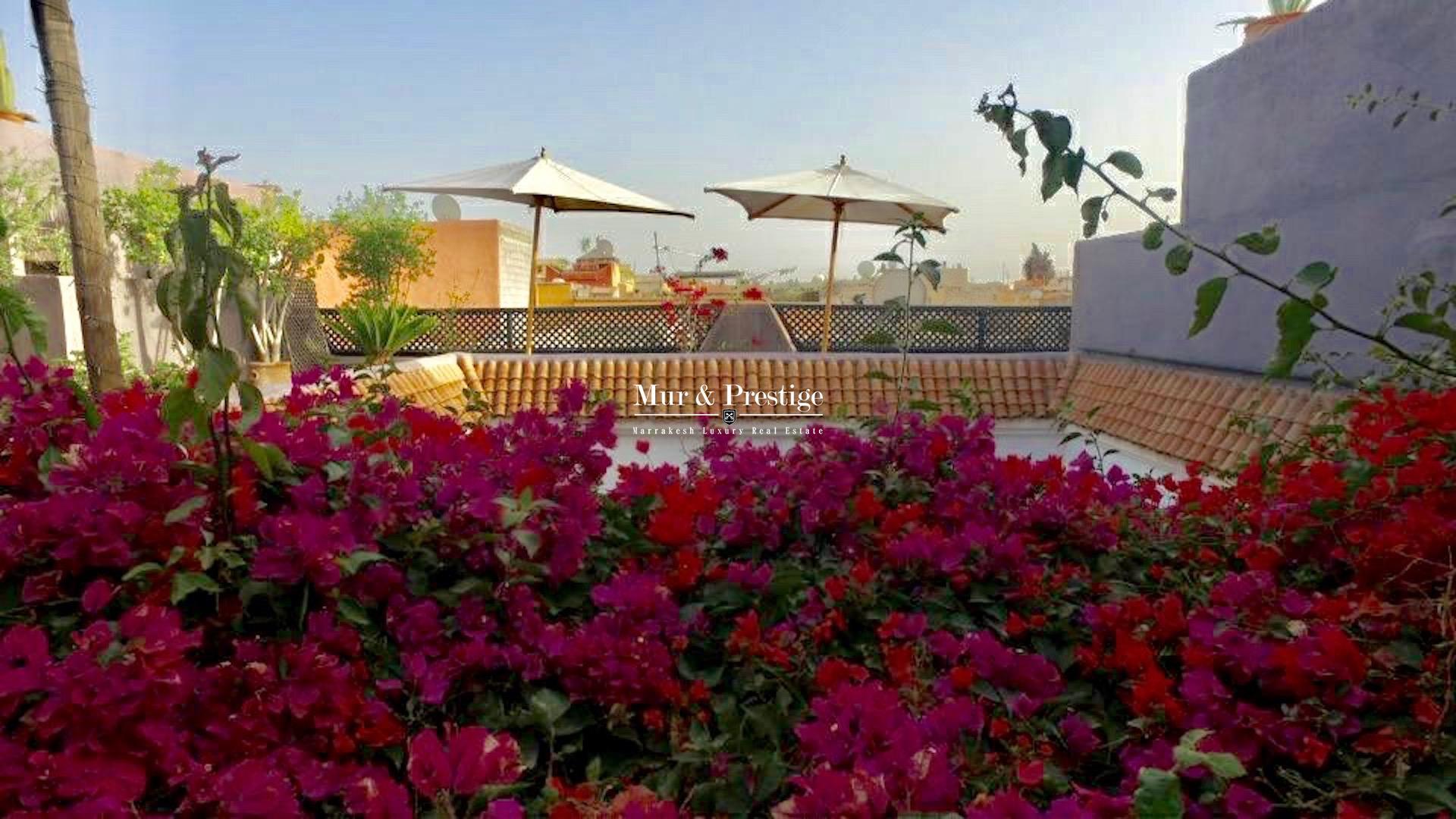 Riad en vente à Marrakech - Agence Immobilière