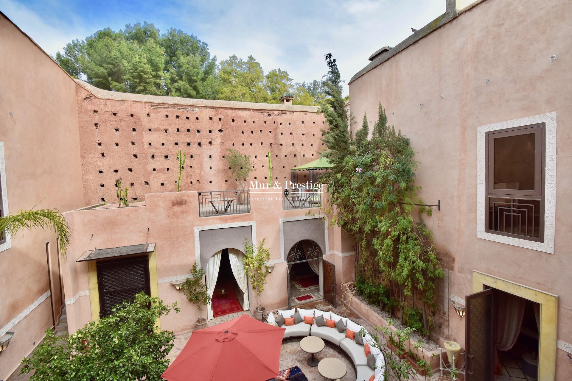 Riad à vendre dans la Médina de Marrakech