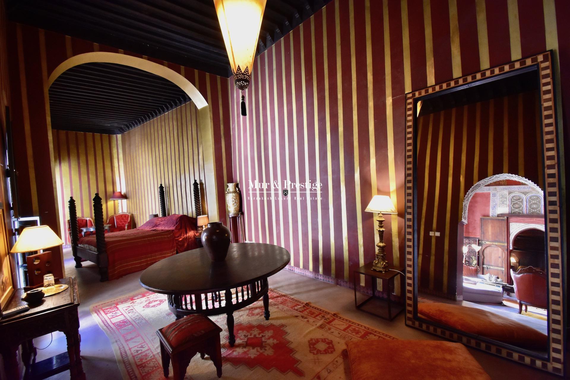 Riad de Prestige à Vendre à Marrakech