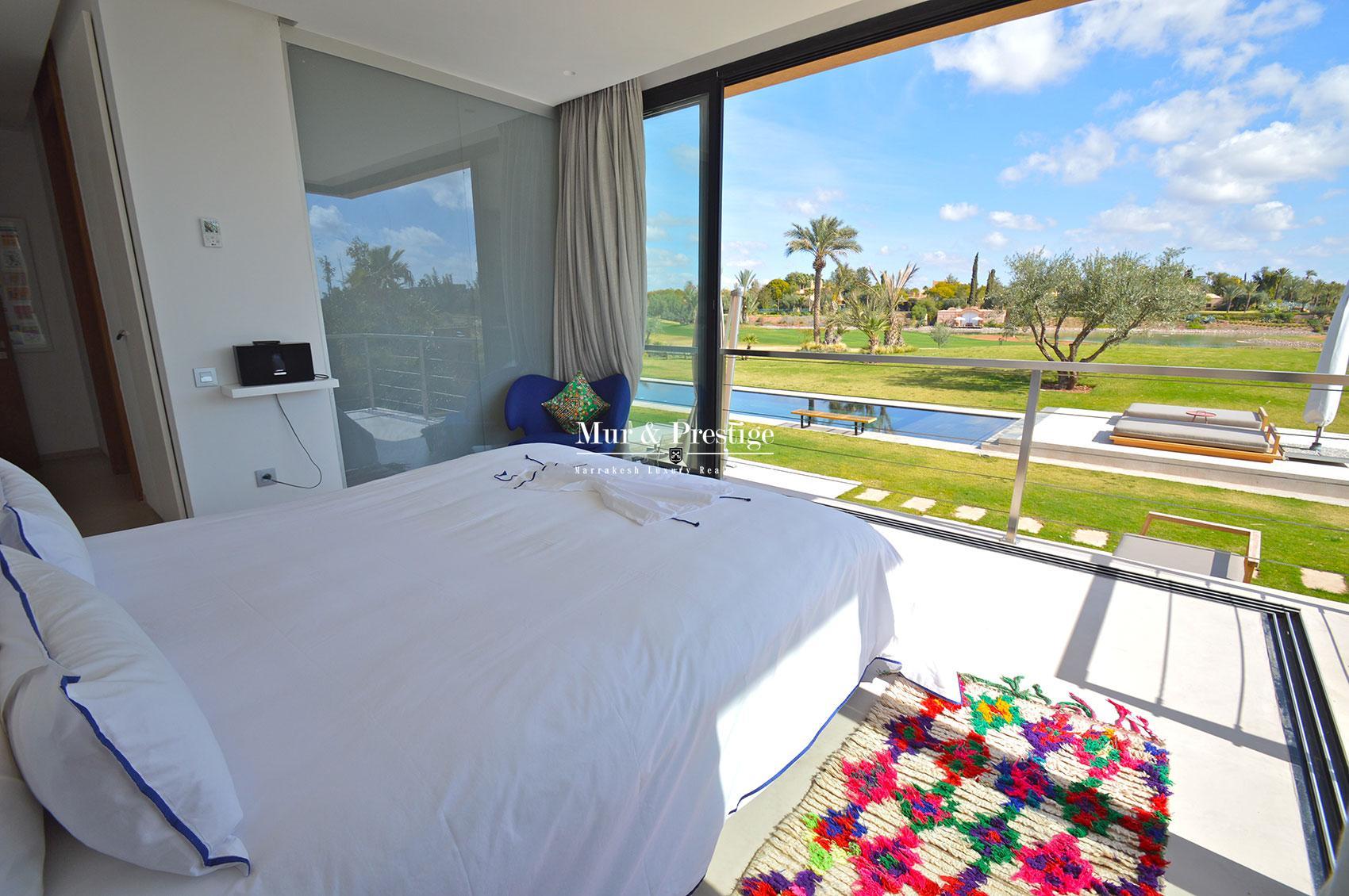 Sompteuse villa sur golf en vente a Marrakech
