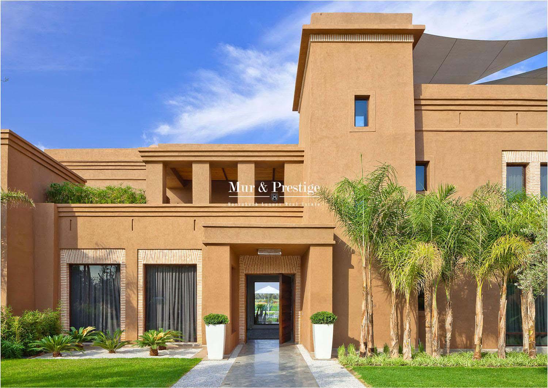 Splendide villa sur golf à vendre à Marrakech