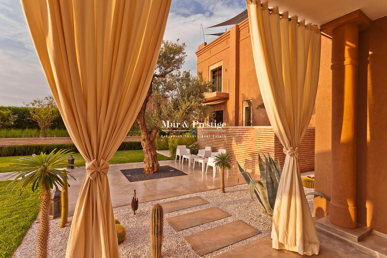 Splendide villa sur golf � vendre � Marrakech