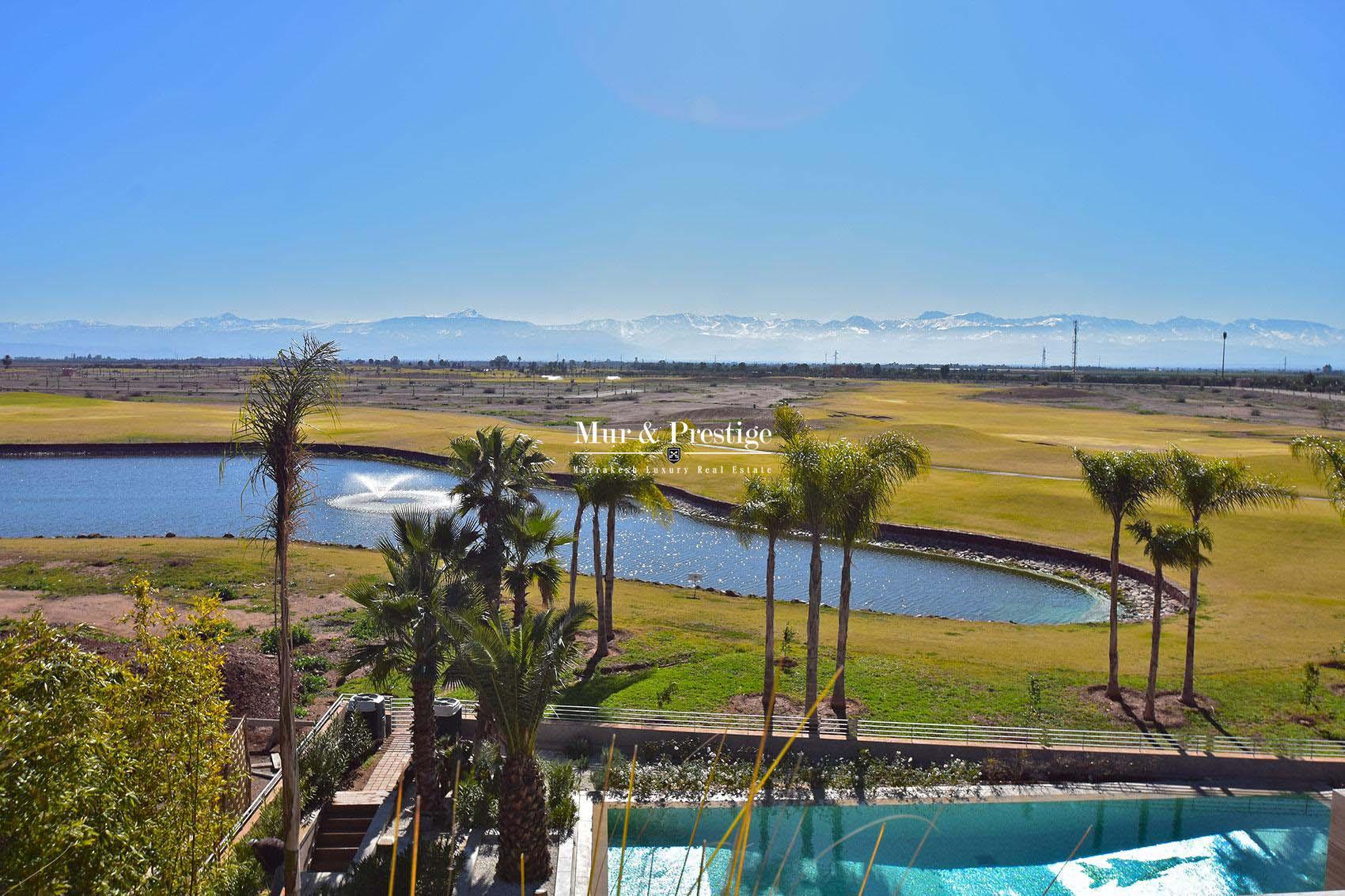 Sublime propriete sur golf en vente a Marrakech