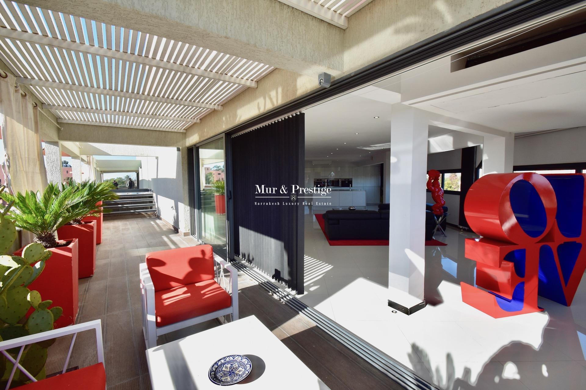 Appartement ultra-moderne en vente au quartier de l'Hivernage à Marrakech