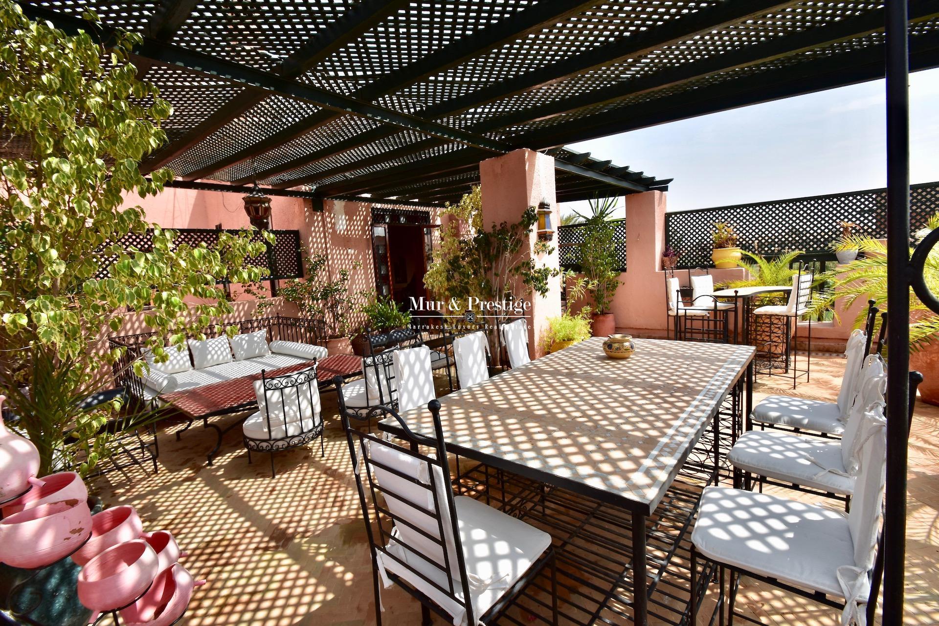 Appartement à Vendre au Coeur de la Palmeraie de Marrakech